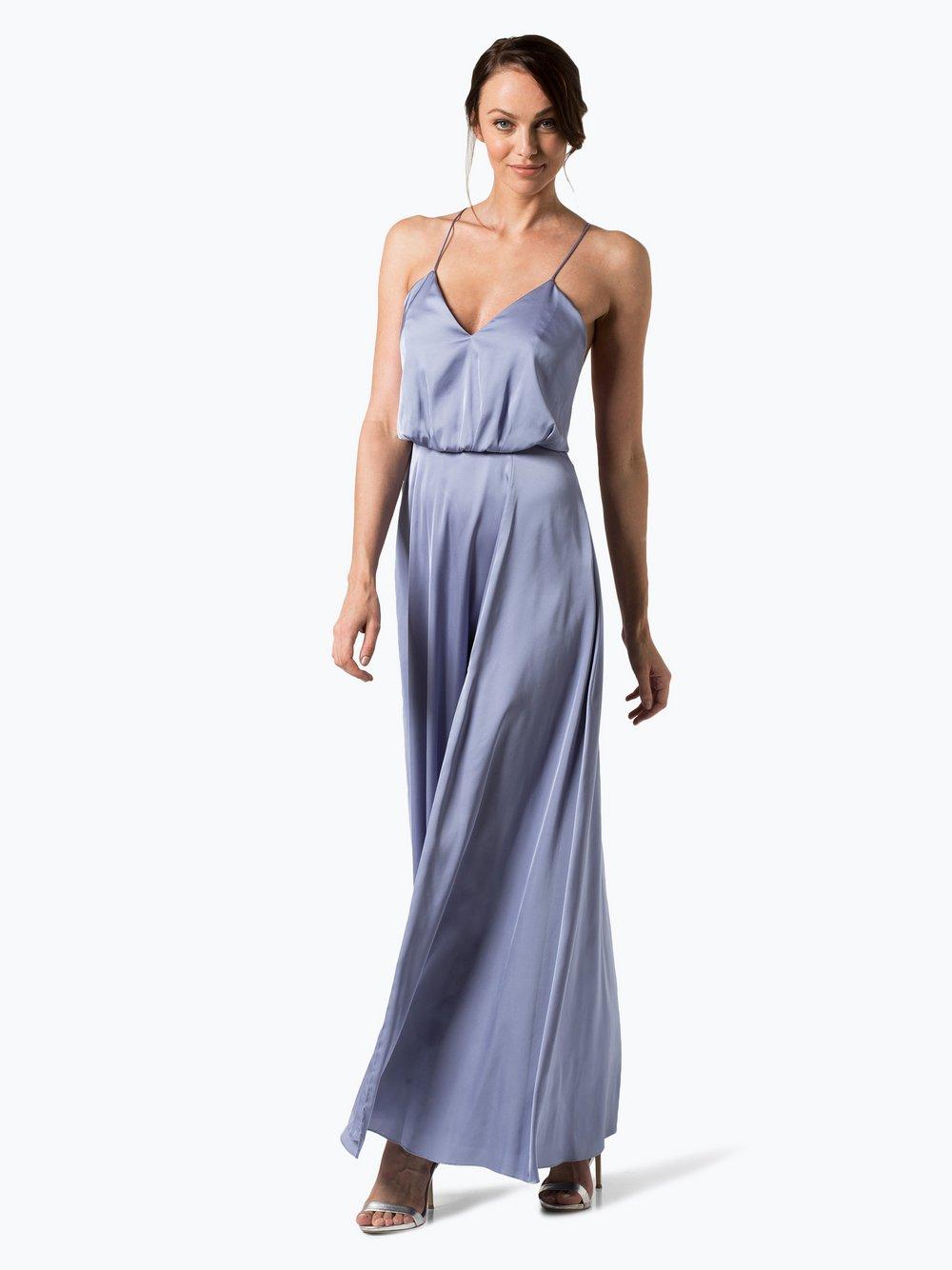 Damen abendkleid blau