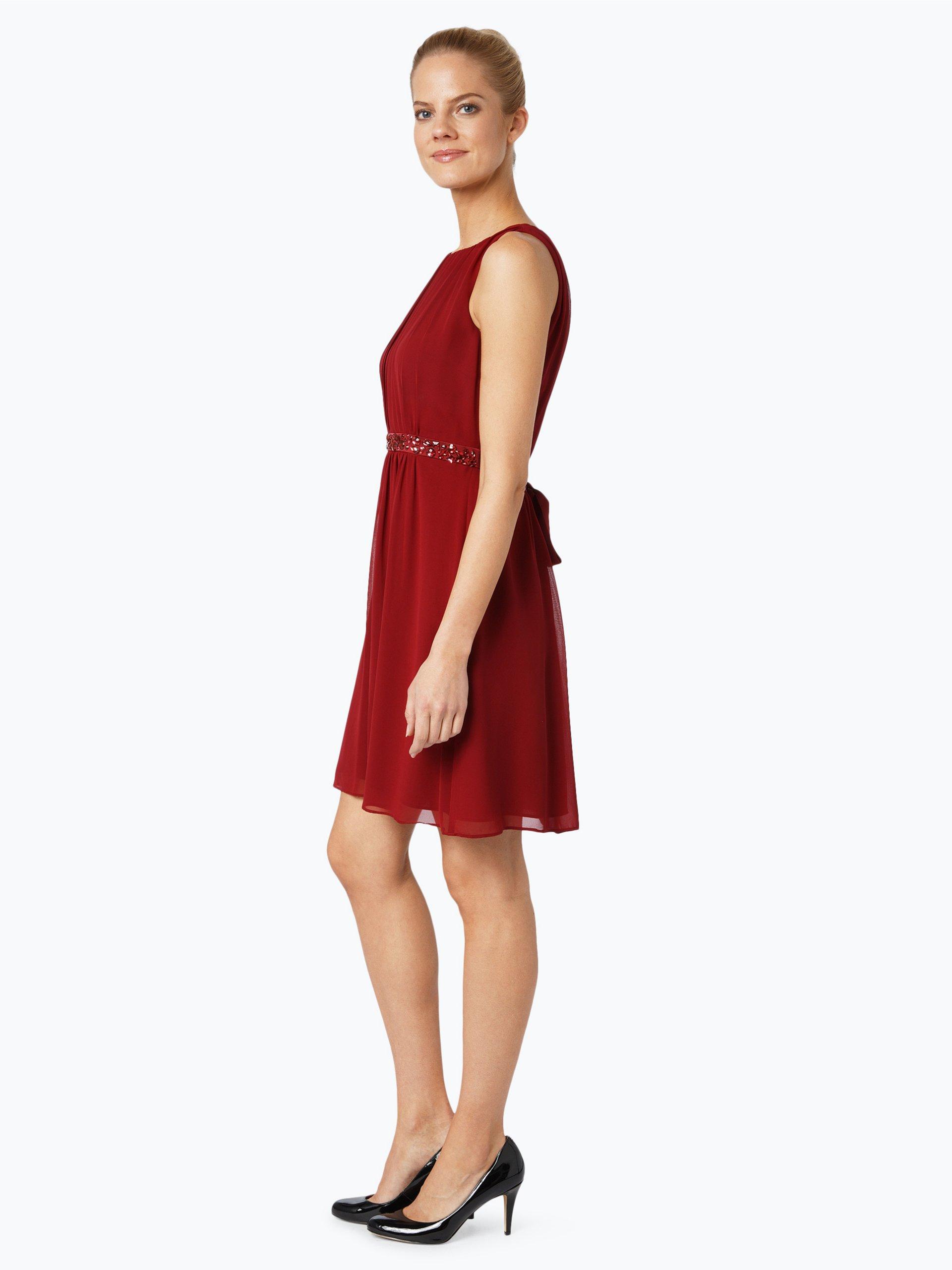 marie lund damen abendkleid rot uni online kaufen peek und cloppenburg de. Black Bedroom Furniture Sets. Home Design Ideas