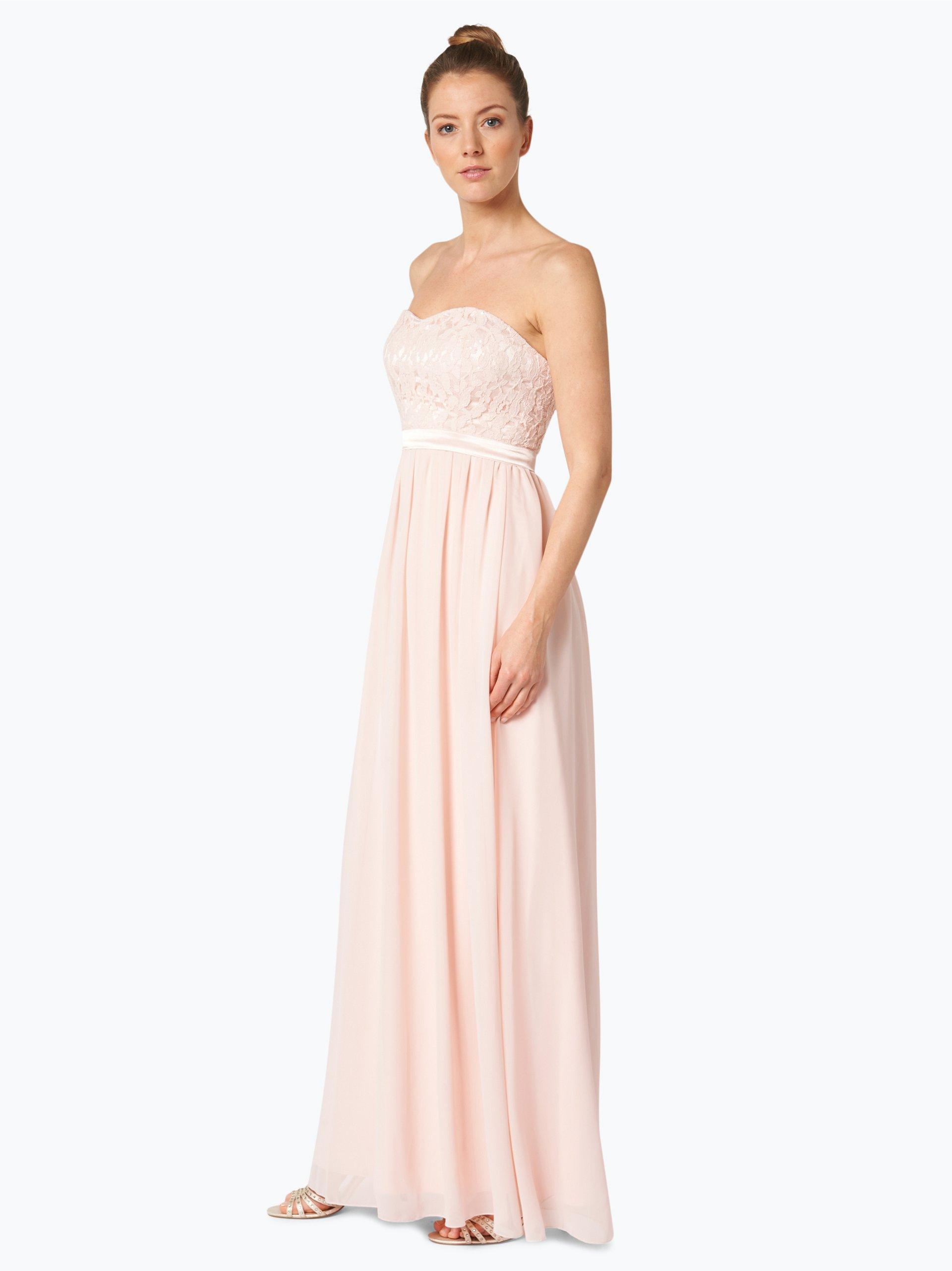 marie lund damen abendkleid rosa uni online kaufen peek und cloppenburg de. Black Bedroom Furniture Sets. Home Design Ideas