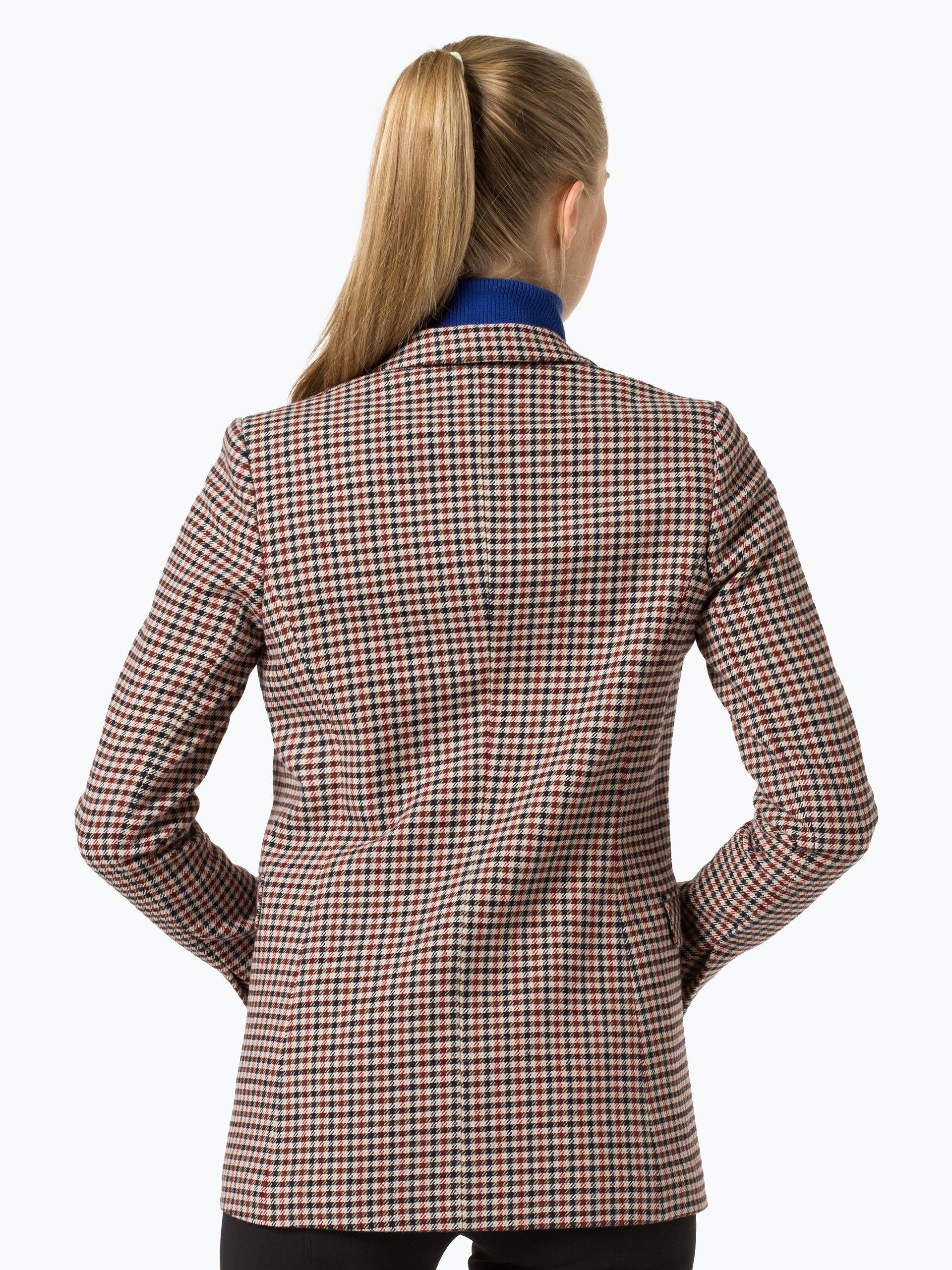 marie lund damen blazer coordinates rot kariert online kaufen vangraaf com. Black Bedroom Furniture Sets. Home Design Ideas