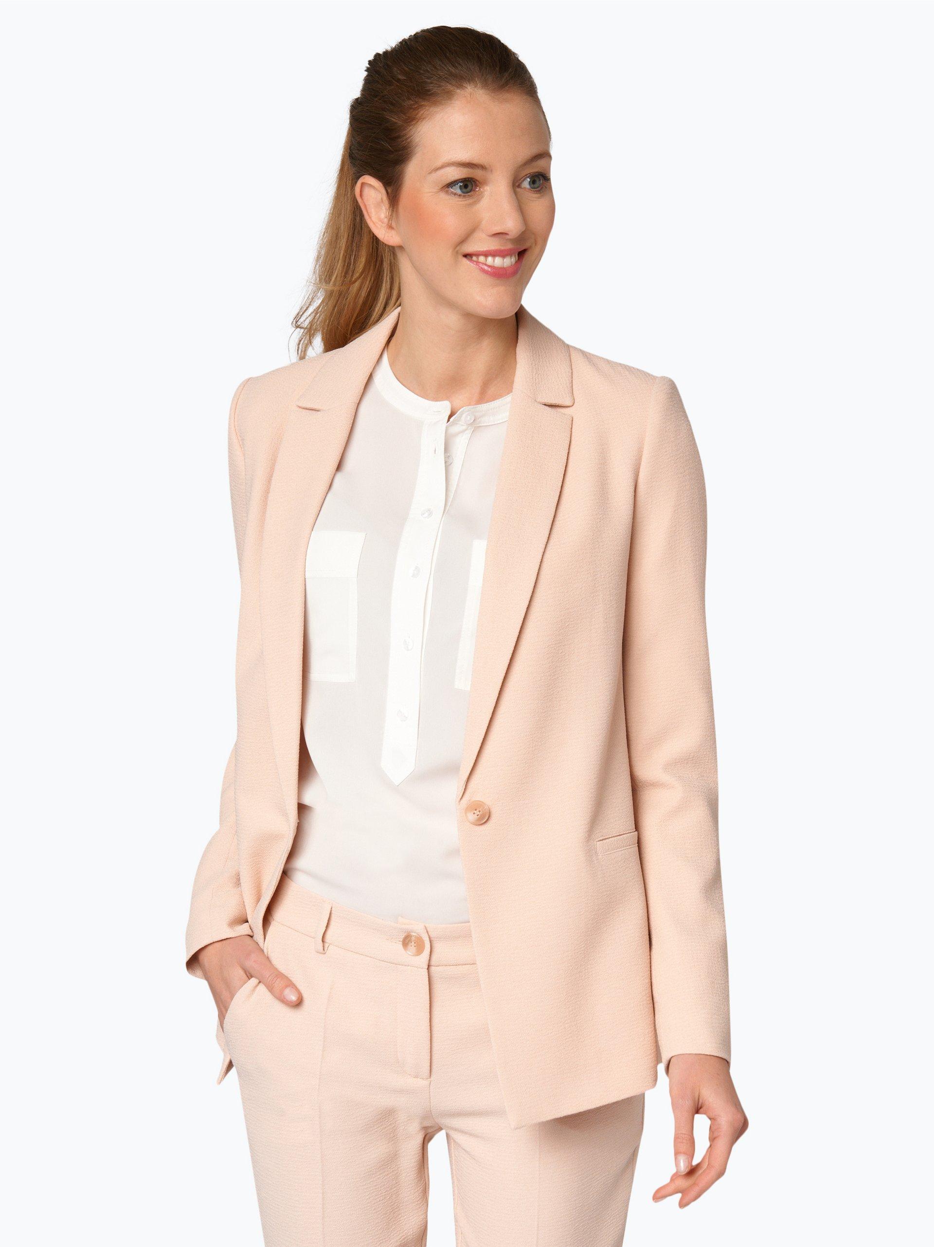 marie lund damen blazer rosa uni online kaufen vangraaf com. Black Bedroom Furniture Sets. Home Design Ideas