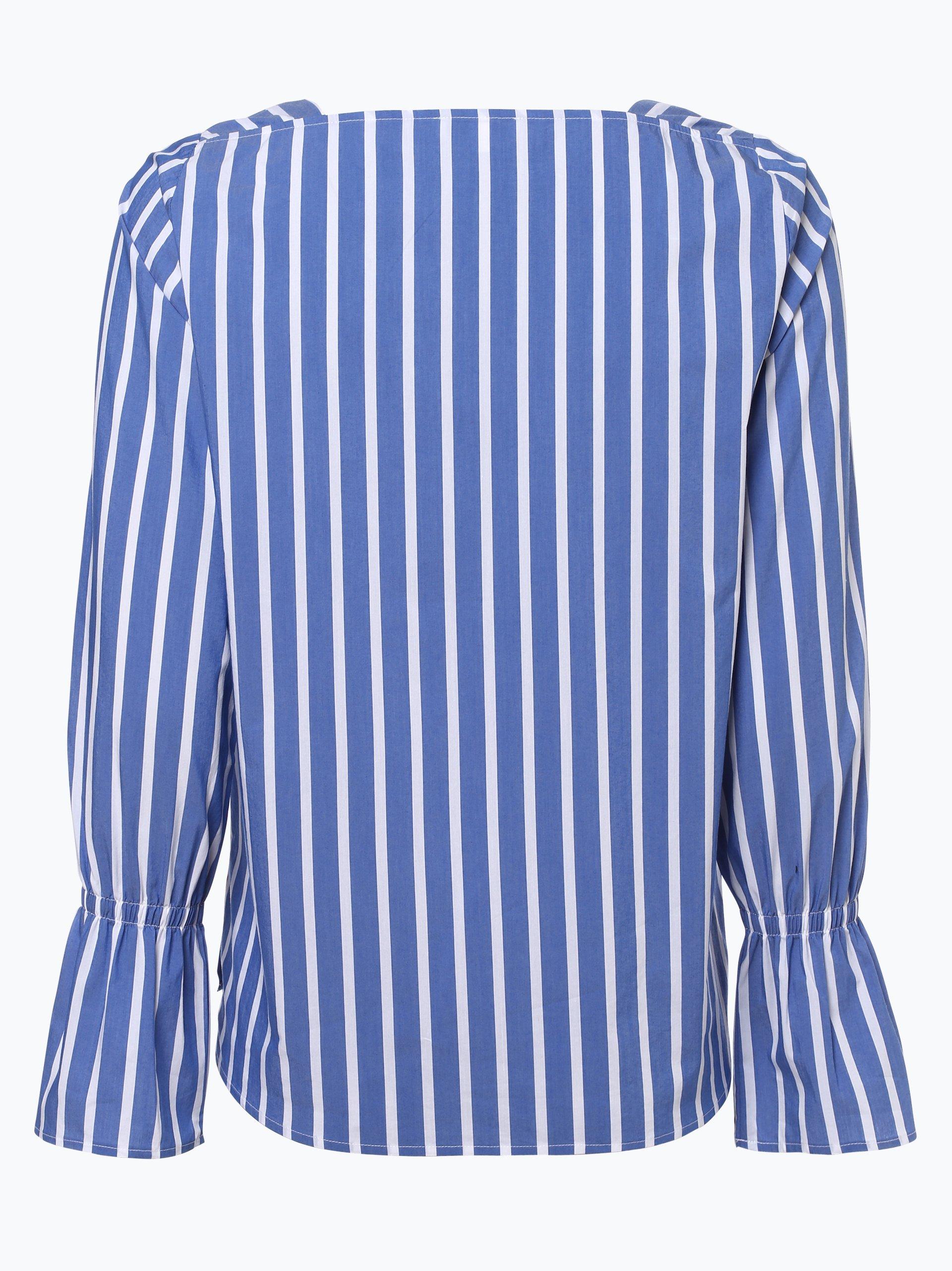 marie lund damen bluse blau gestreift online kaufen vangraaf com. Black Bedroom Furniture Sets. Home Design Ideas