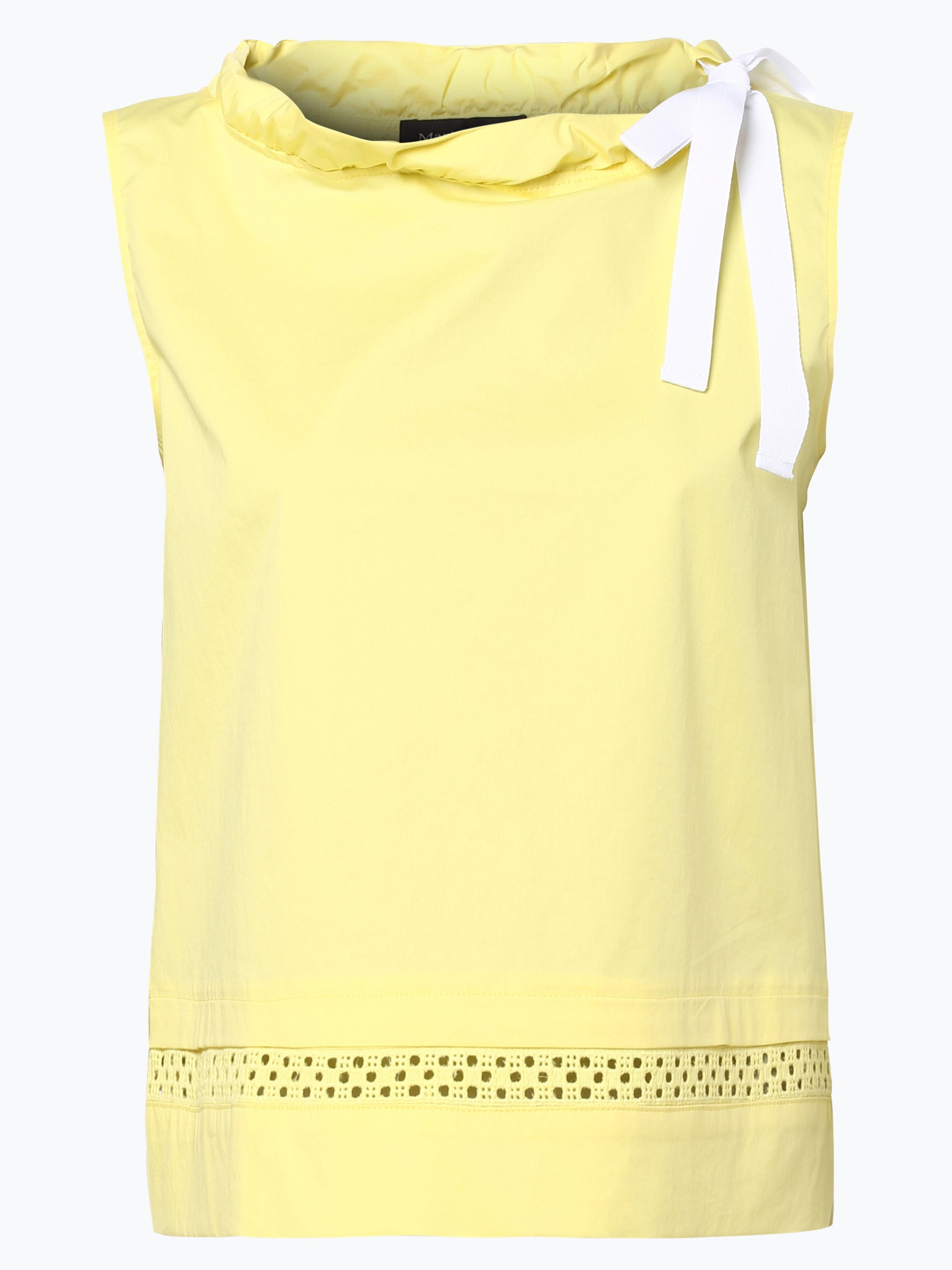 marie lund damen bluse gelb uni online kaufen vangraaf com. Black Bedroom Furniture Sets. Home Design Ideas