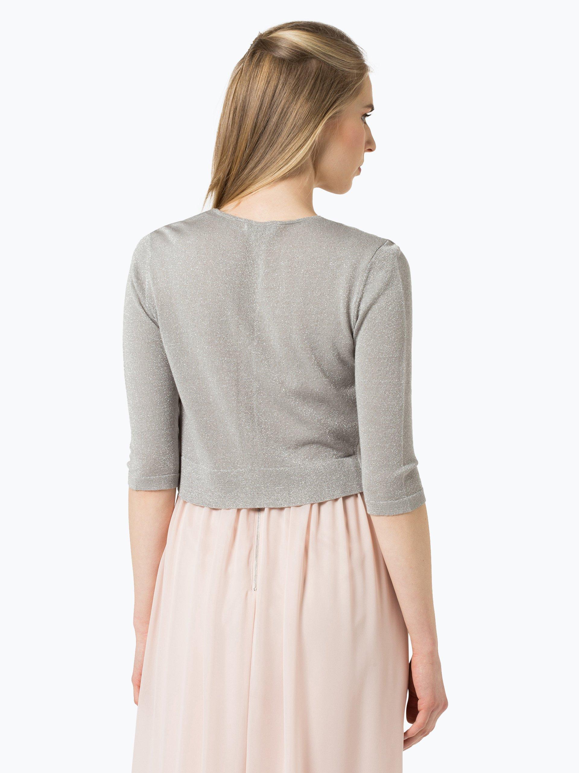 Marie lund damen bolero grau uni online kaufen vangraaf com for Garderobe bolero