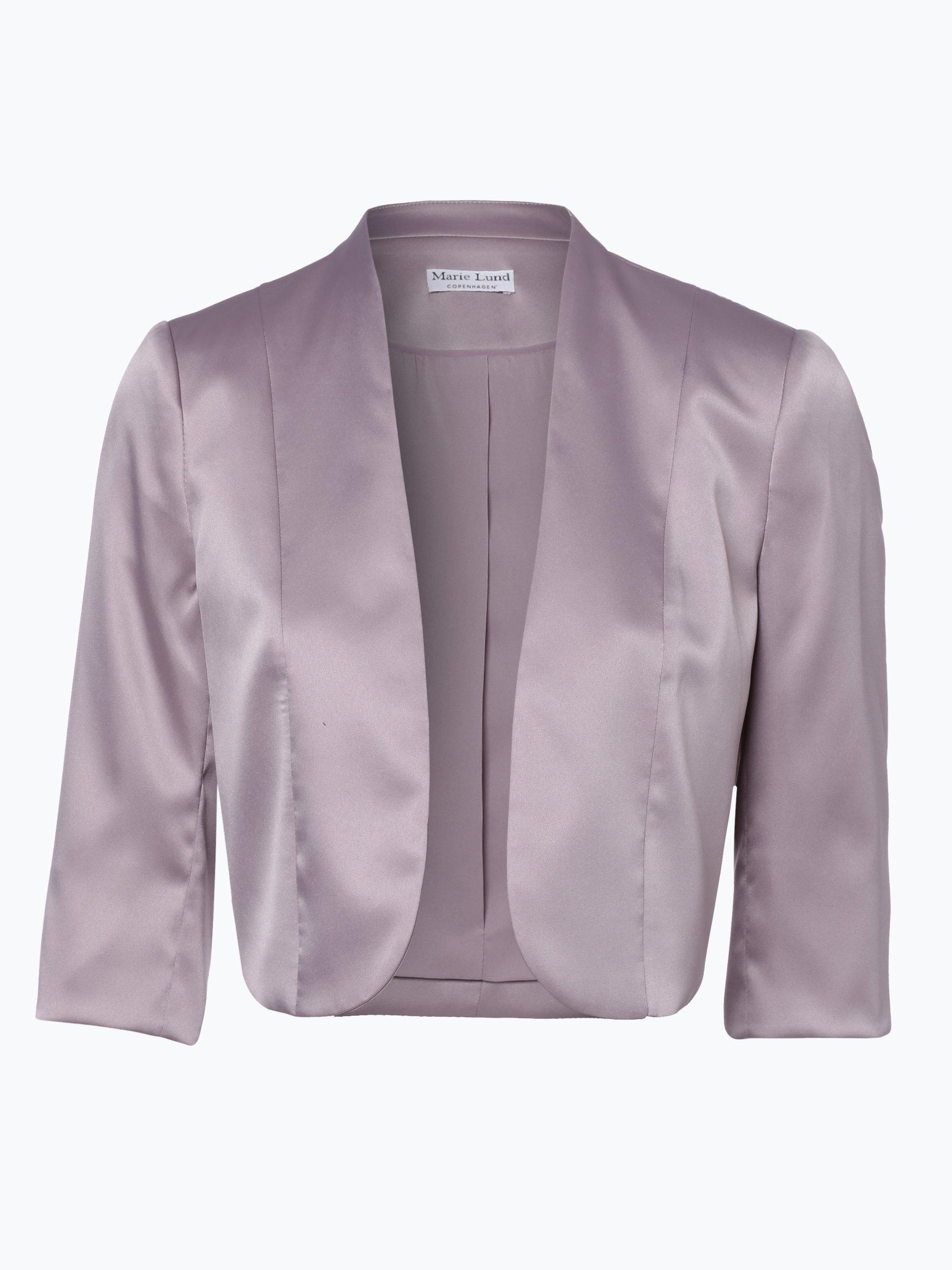 Marie lund damen bolero rosenholz uni online kaufen for Garderobe bolero