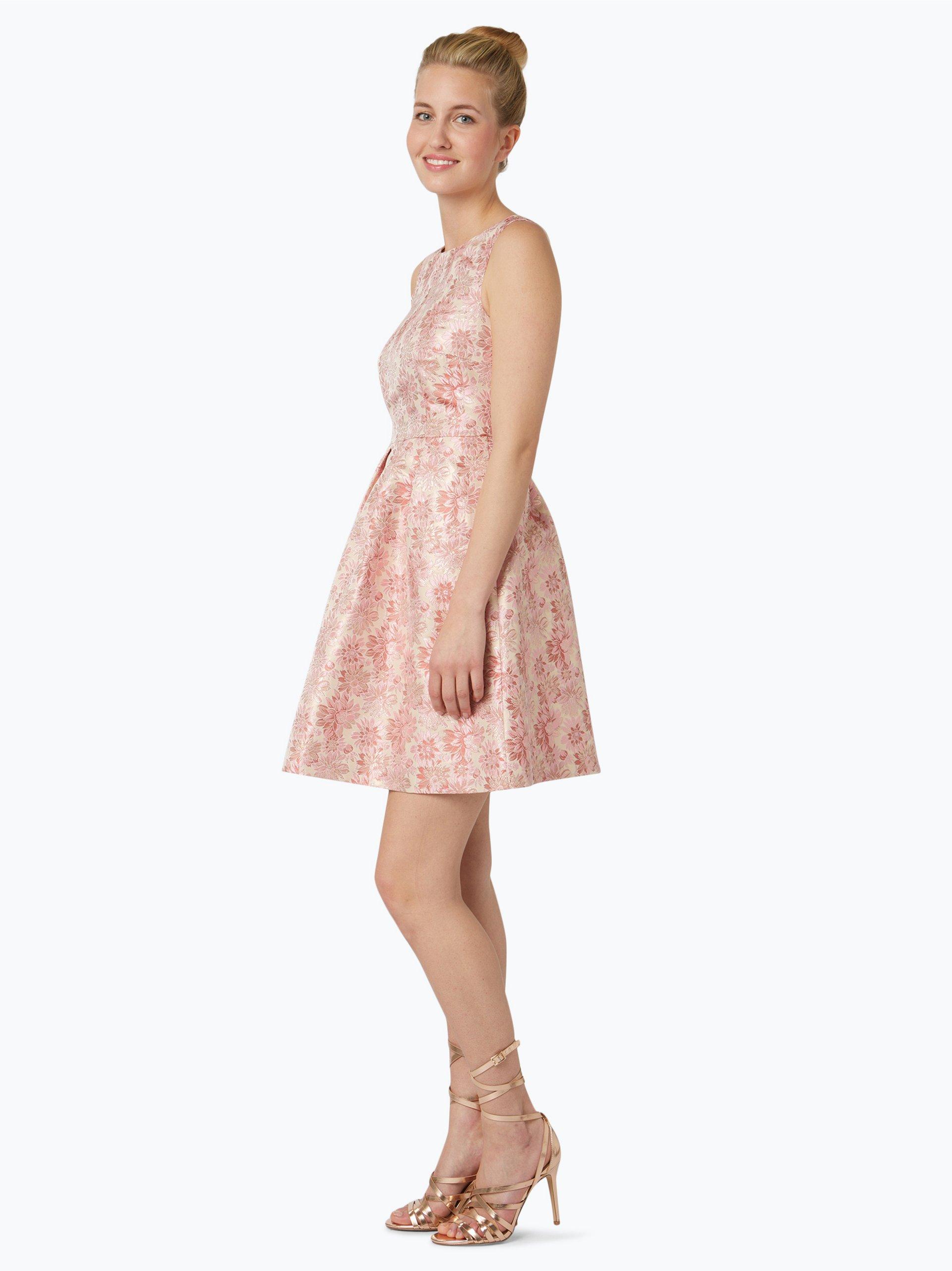 marie lund damen cocktailkleid rosa gemustert online. Black Bedroom Furniture Sets. Home Design Ideas