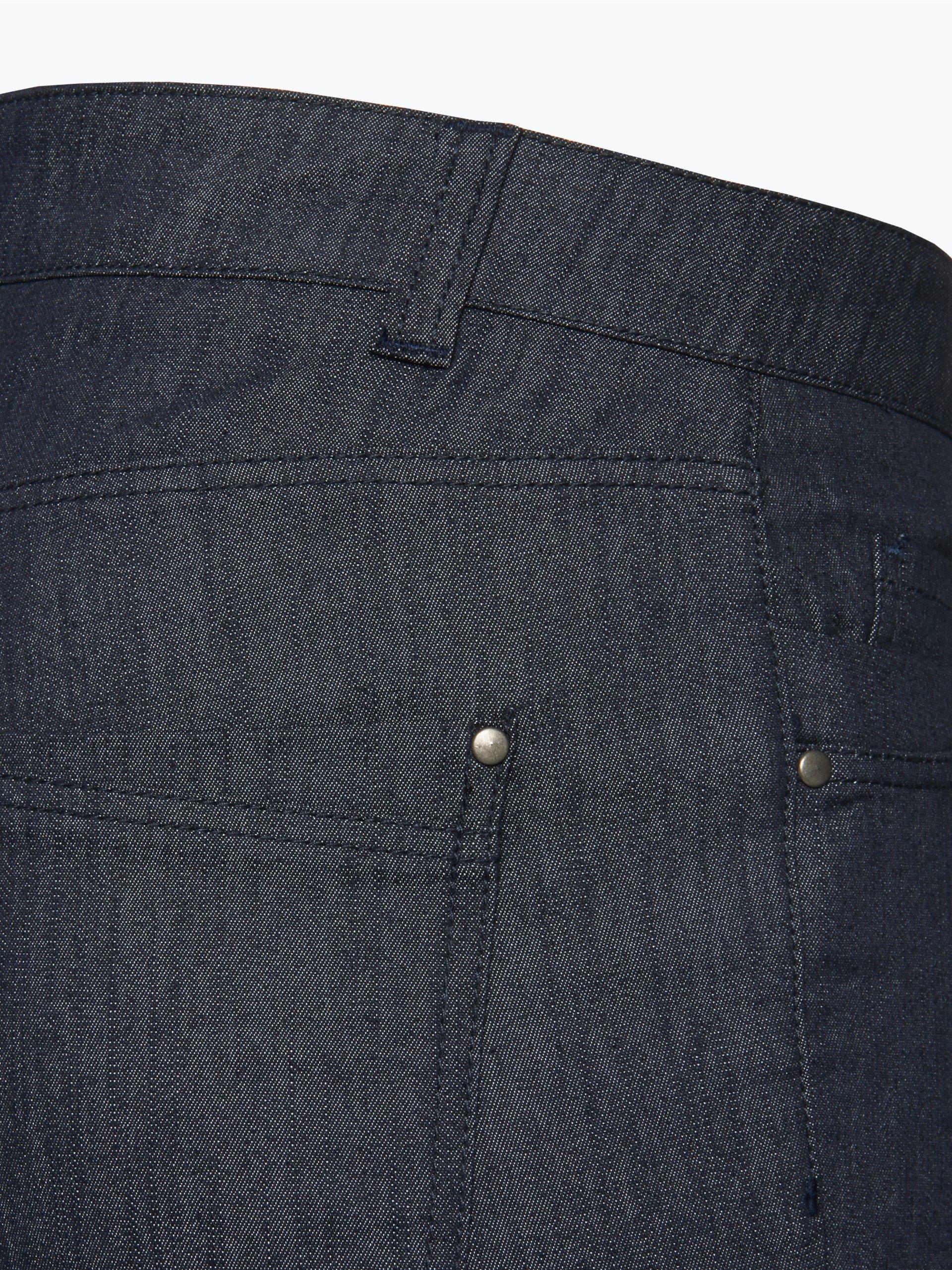 marie lund damen jeans dark stone uni online kaufen vangraaf com. Black Bedroom Furniture Sets. Home Design Ideas
