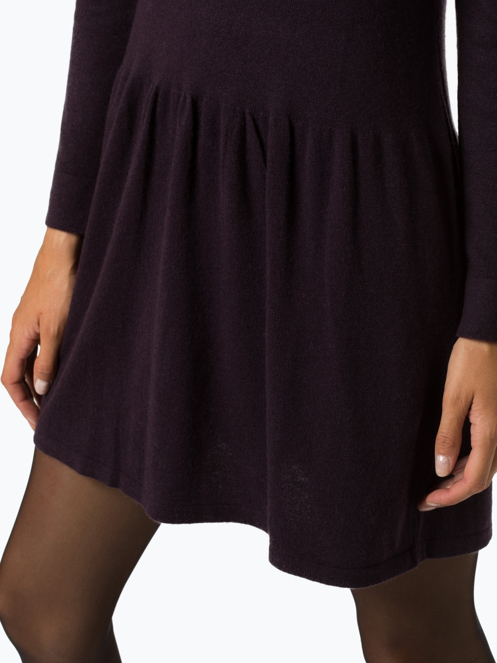 c8747386626612 Marie Lund Damen Kleid mit Alpaka-Anteil aubergine uni online kaufen ...