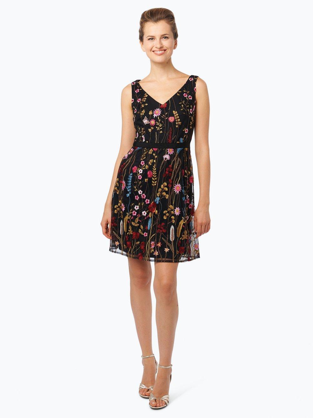 Kleid schwarz gemustert