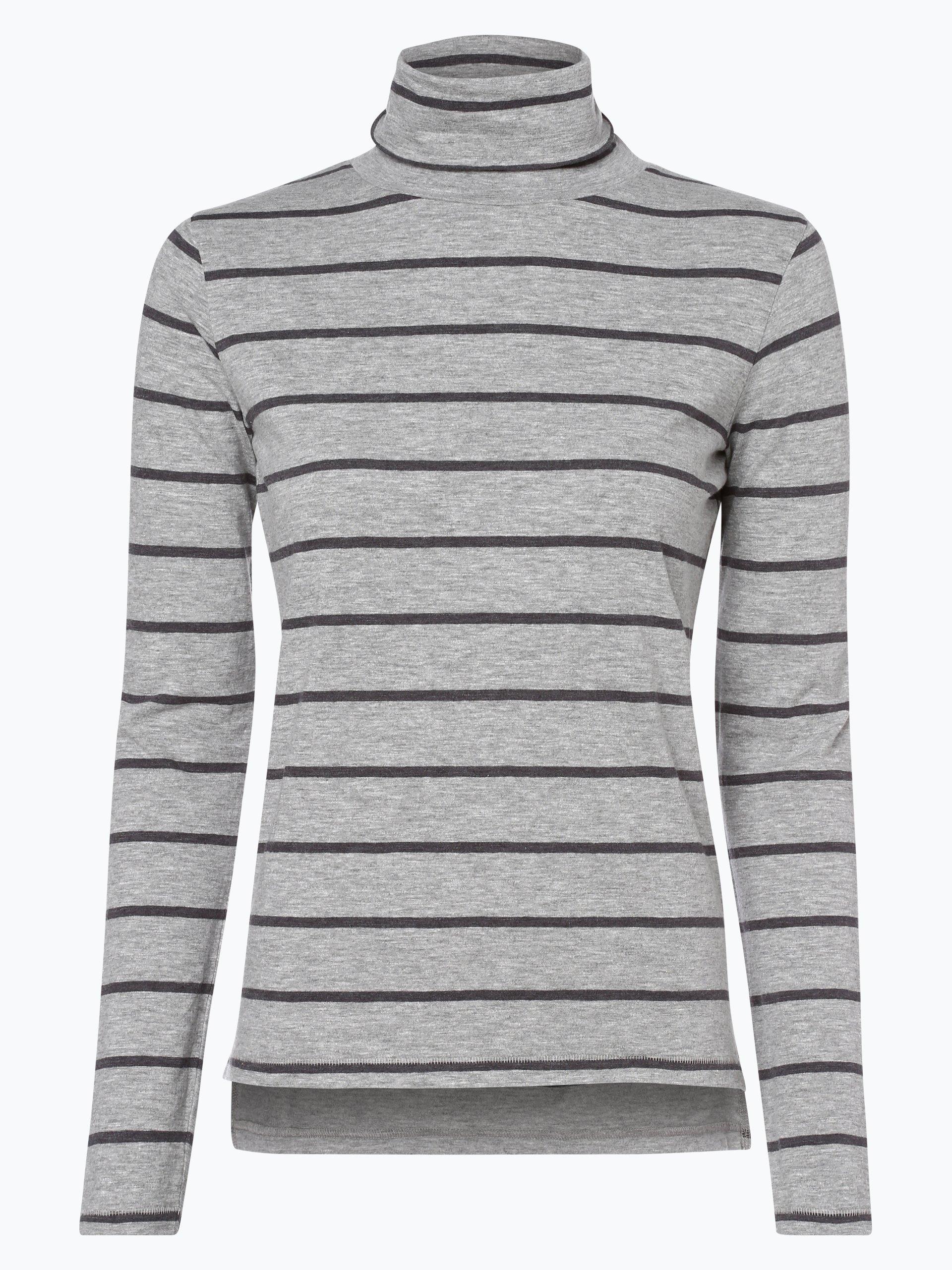 marie lund damen langarmshirt anthrazit grau gestreift online kaufen peek und cloppenburg de. Black Bedroom Furniture Sets. Home Design Ideas