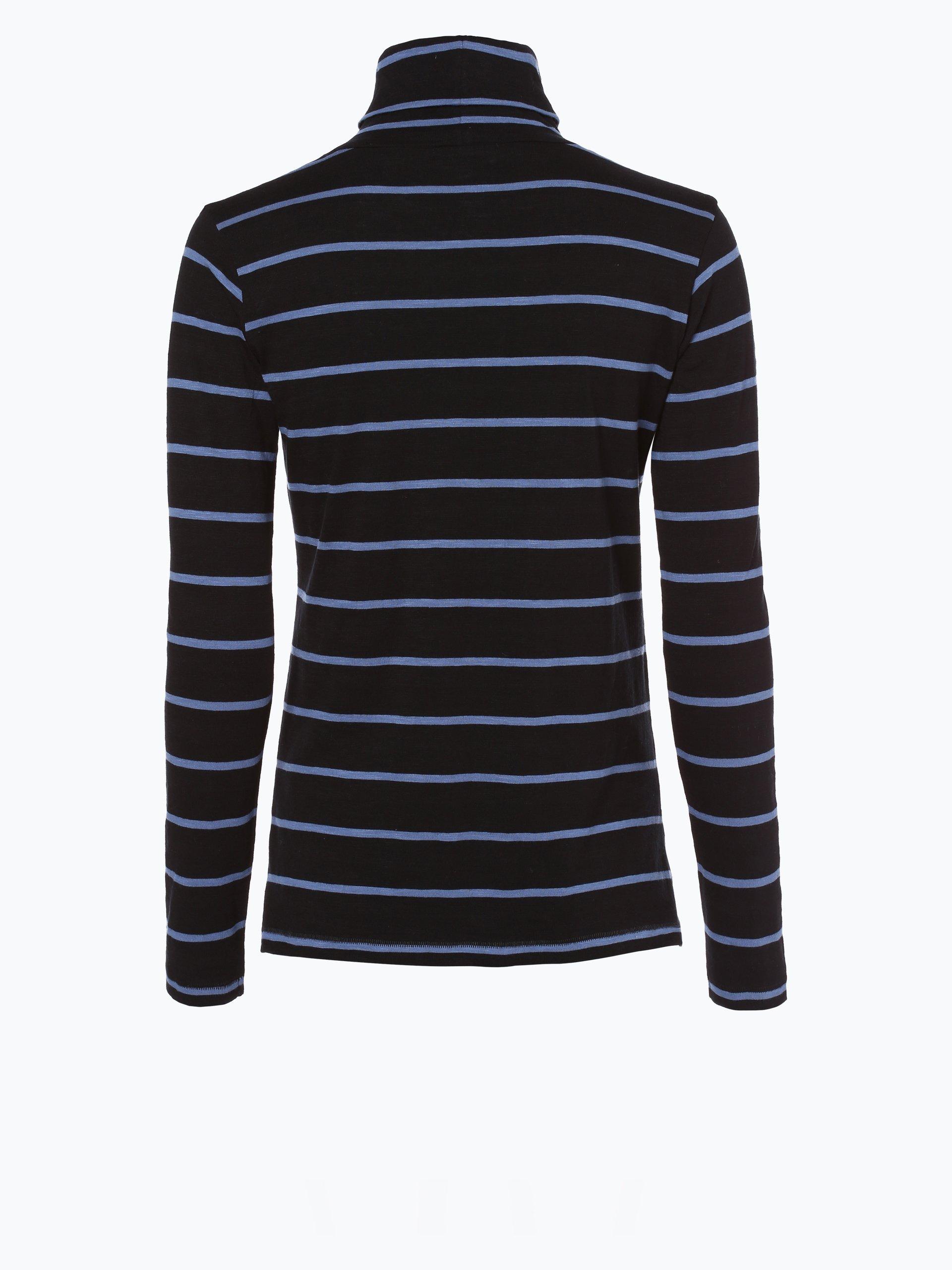 marie lund damen langarmshirt schwarz blau gestreift online kaufen peek und cloppenburg de. Black Bedroom Furniture Sets. Home Design Ideas