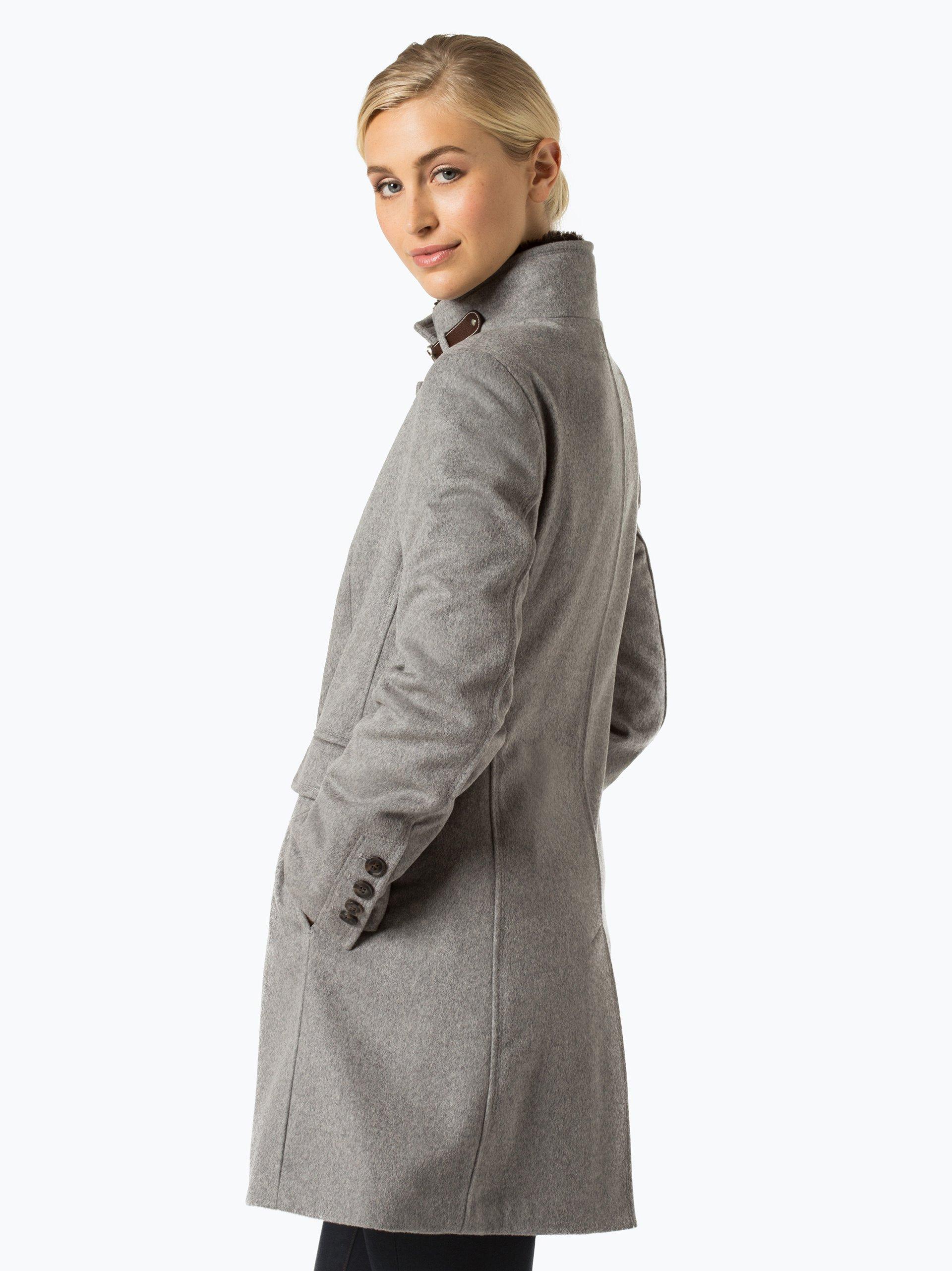 marie lund damen mantel mit cashmere anteil grau uni online kaufen peek und cloppenburg de. Black Bedroom Furniture Sets. Home Design Ideas