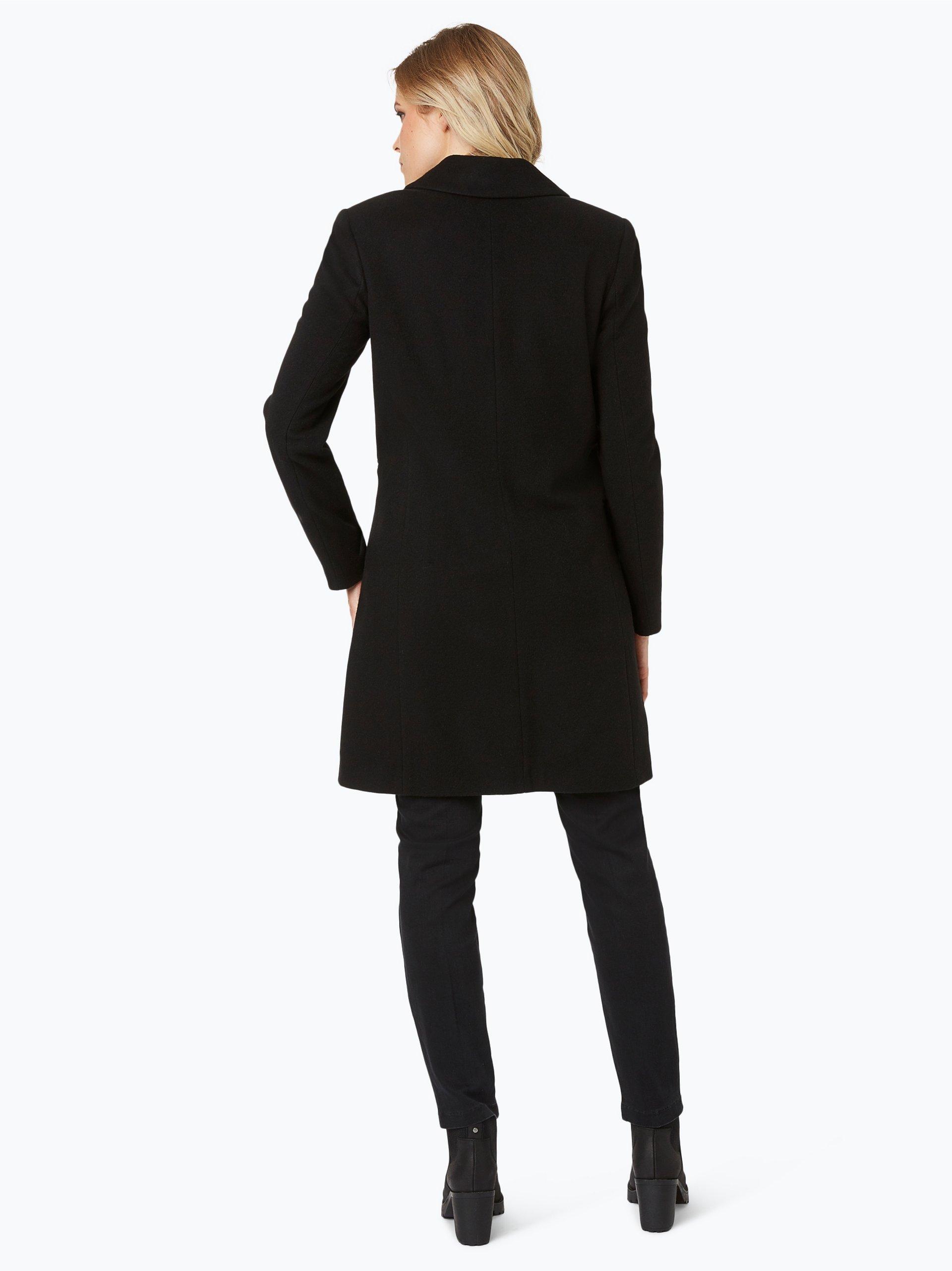 marie lund damen mantel mit cashmere anteil schwarz uni online kaufen peek und cloppenburg de. Black Bedroom Furniture Sets. Home Design Ideas