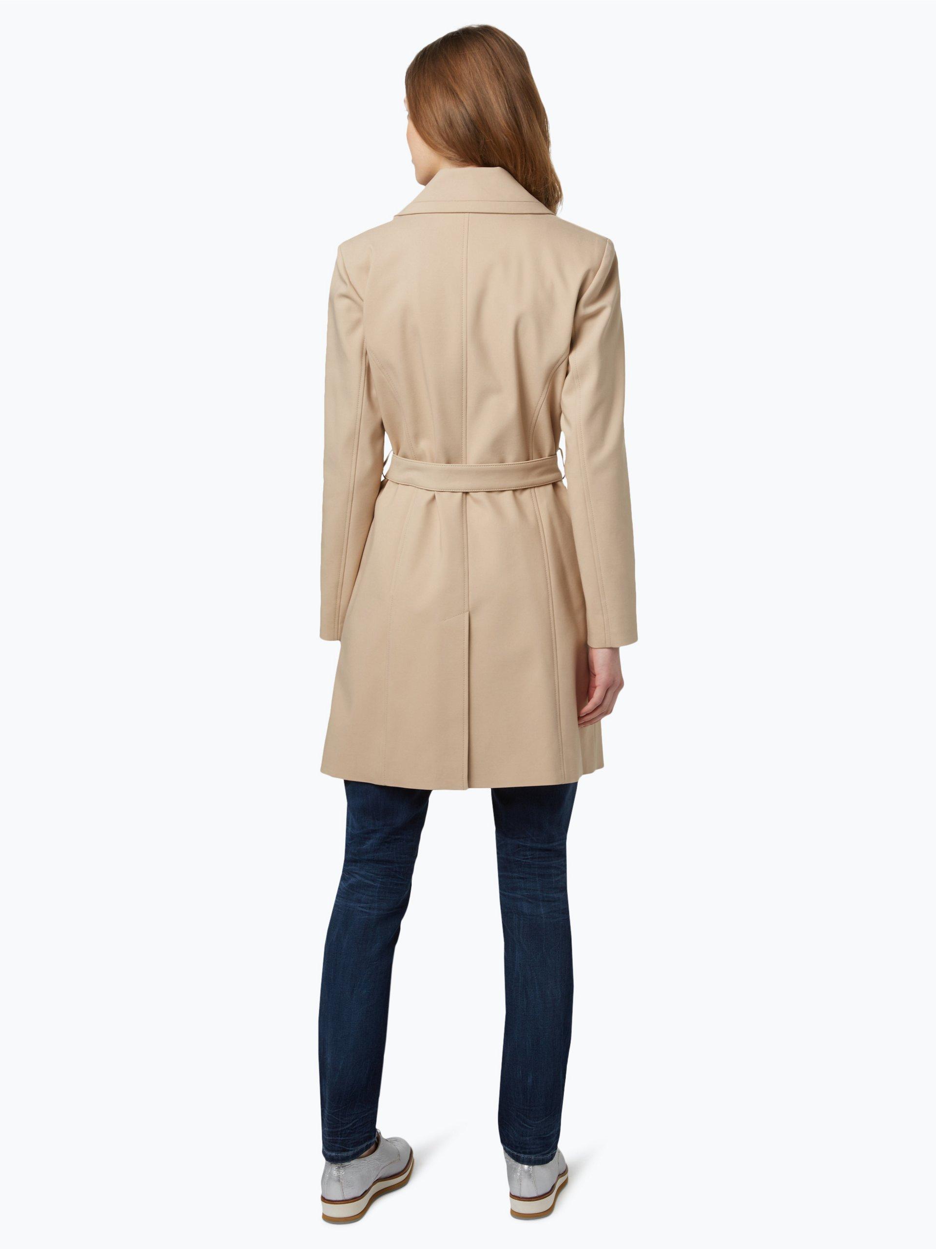 marie lund damen mantel beige uni online kaufen vangraaf com. Black Bedroom Furniture Sets. Home Design Ideas