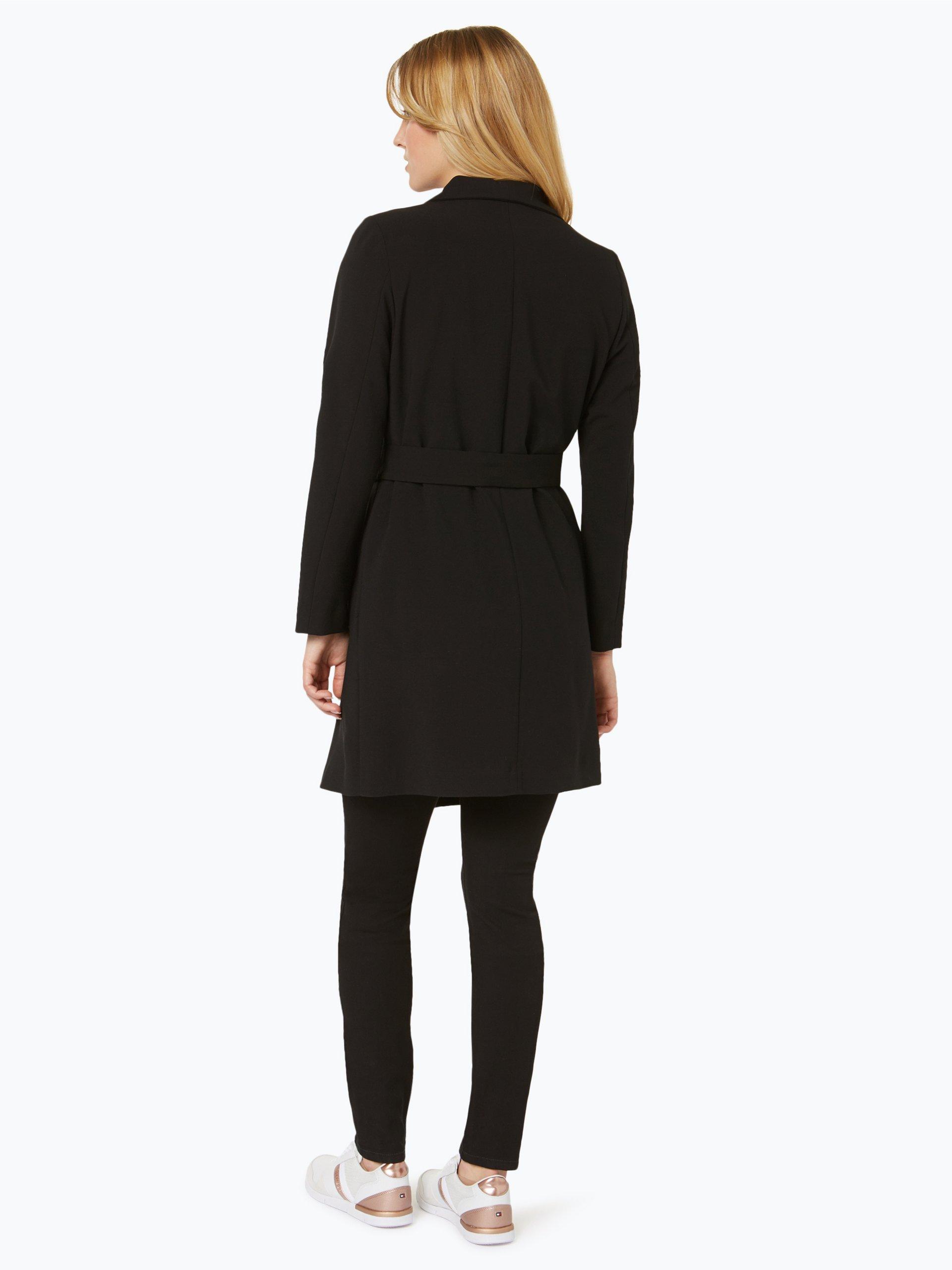 marie lund damen mantel schwarz uni online kaufen peek und cloppenburg de. Black Bedroom Furniture Sets. Home Design Ideas