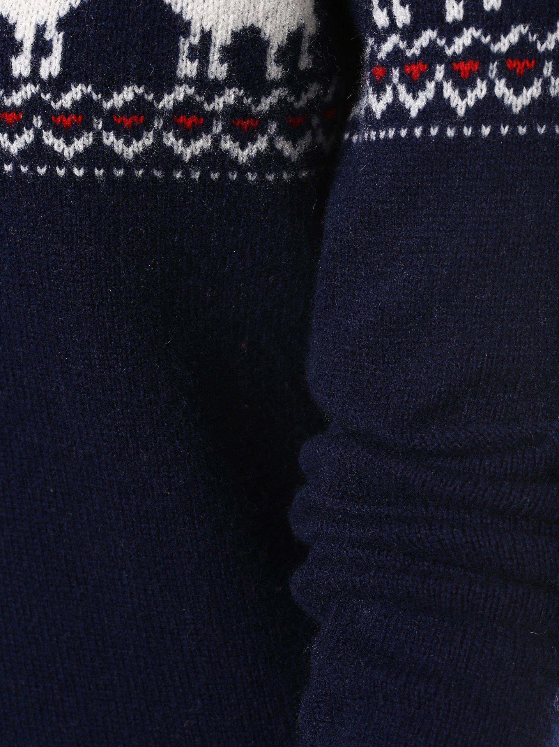 Marie Lund Damen Pullover mit Merino-Anteil