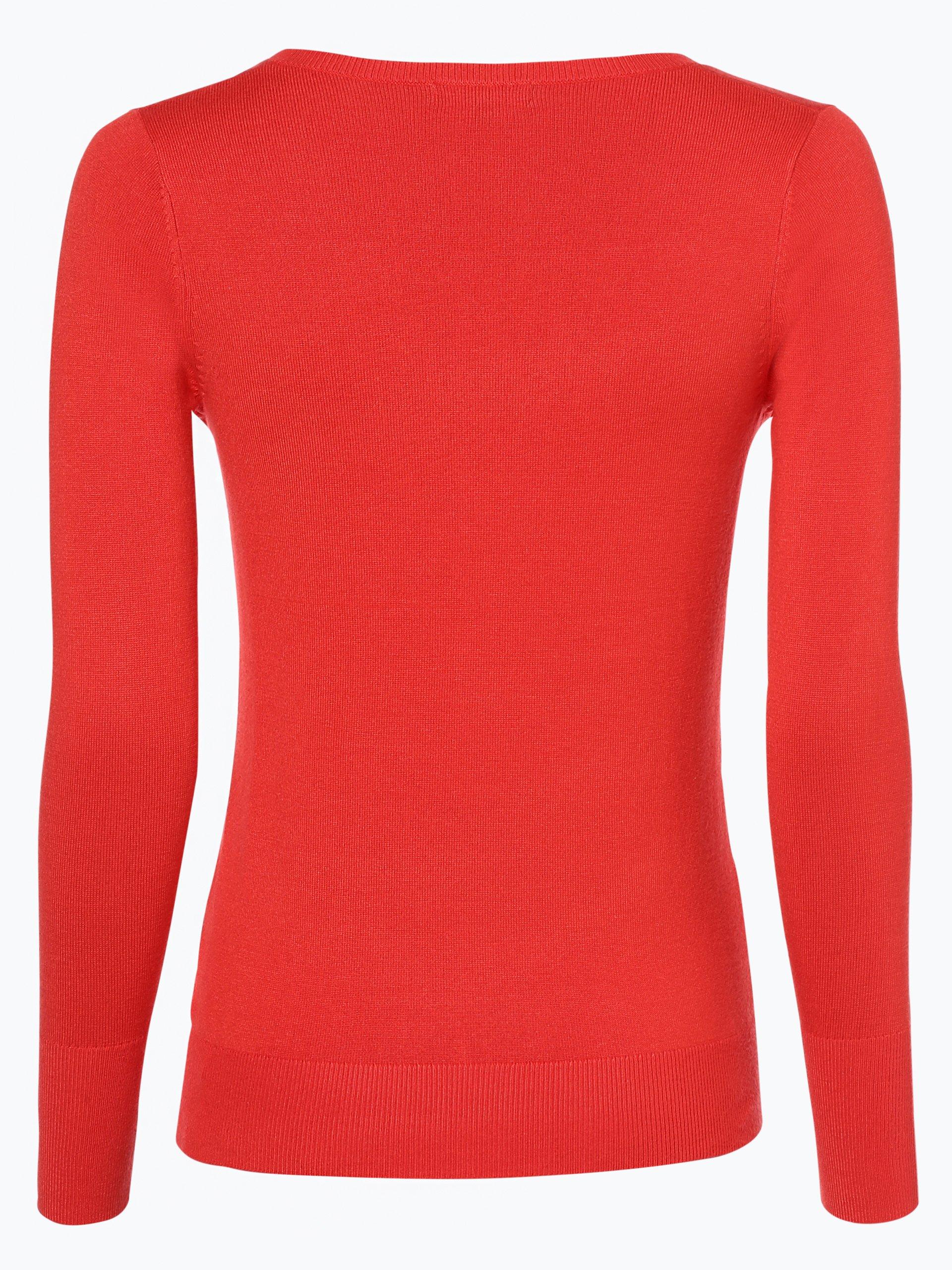 marie lund damen pullover rot uni online kaufen peek und. Black Bedroom Furniture Sets. Home Design Ideas