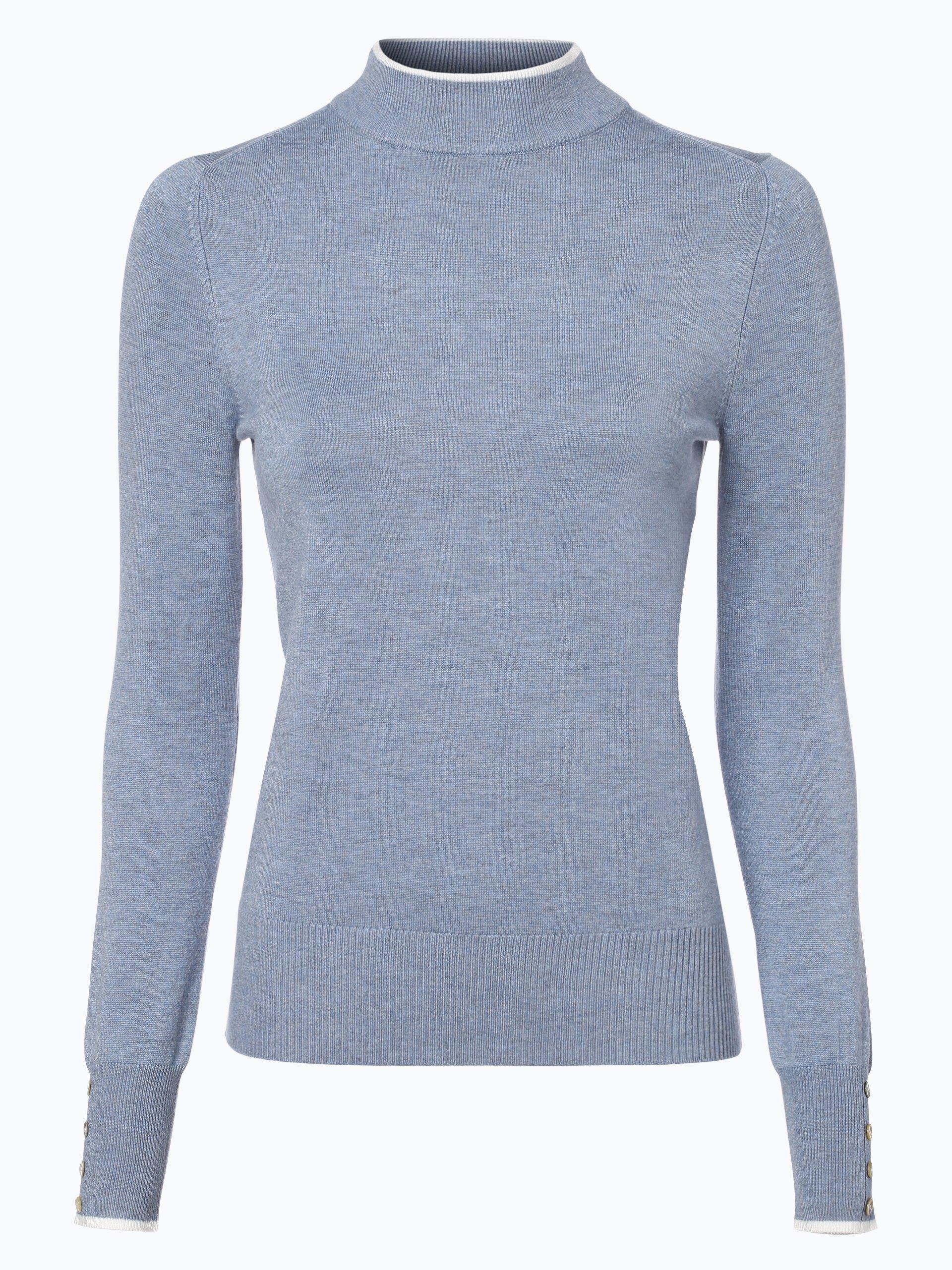 marie lund damen pullover hellblau uni online kaufen. Black Bedroom Furniture Sets. Home Design Ideas