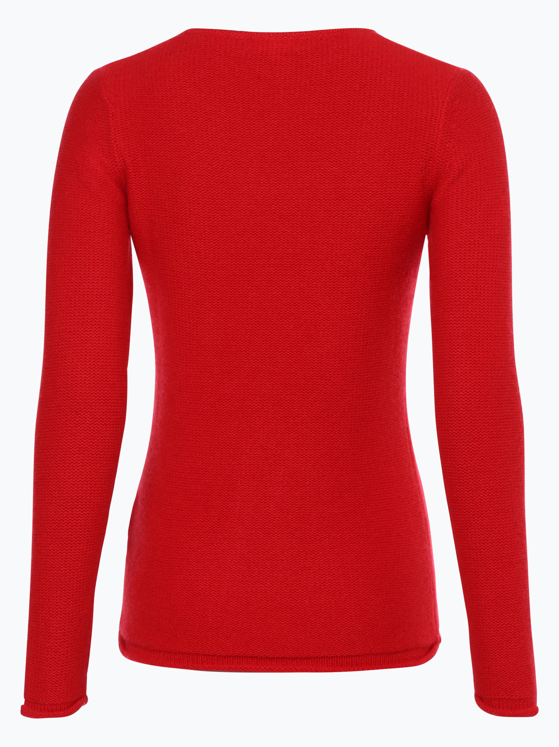 marie lund damen pure cashmere pullover rot uni online. Black Bedroom Furniture Sets. Home Design Ideas