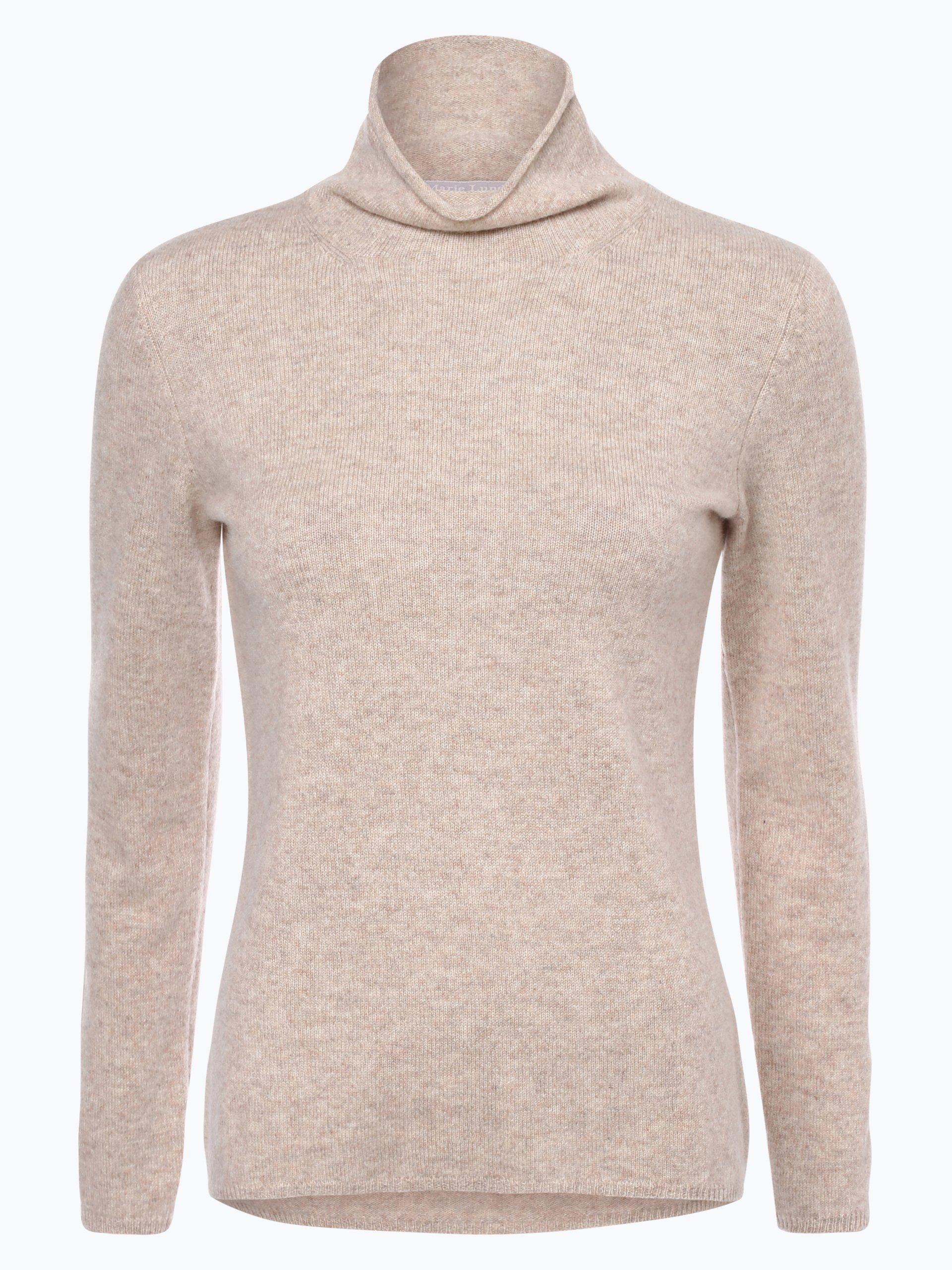 marie lund damen pure cashmere pullover beige uni online kaufen vangraaf com. Black Bedroom Furniture Sets. Home Design Ideas