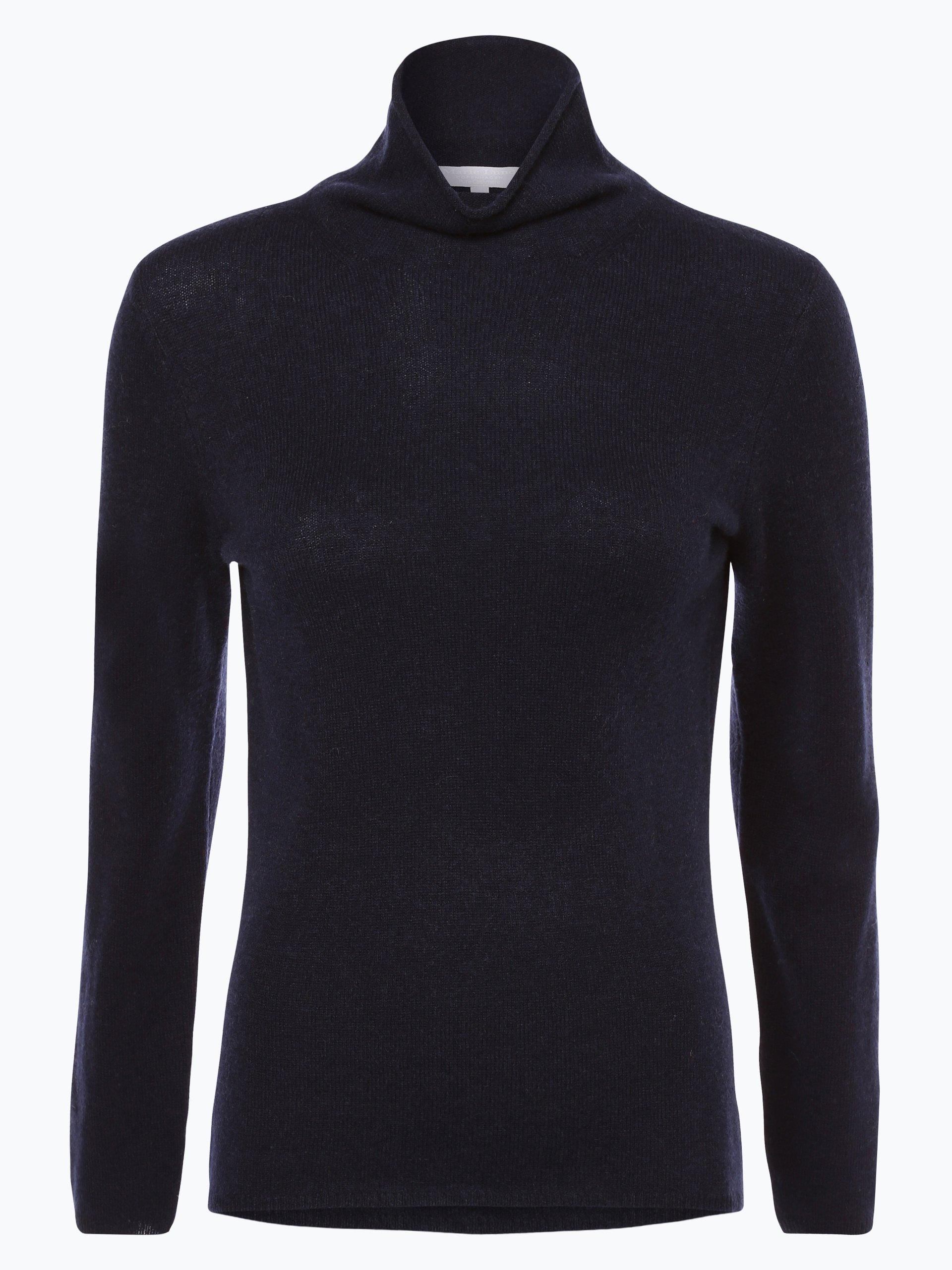 marie lund damen pure cashmere pullover marine uni online. Black Bedroom Furniture Sets. Home Design Ideas