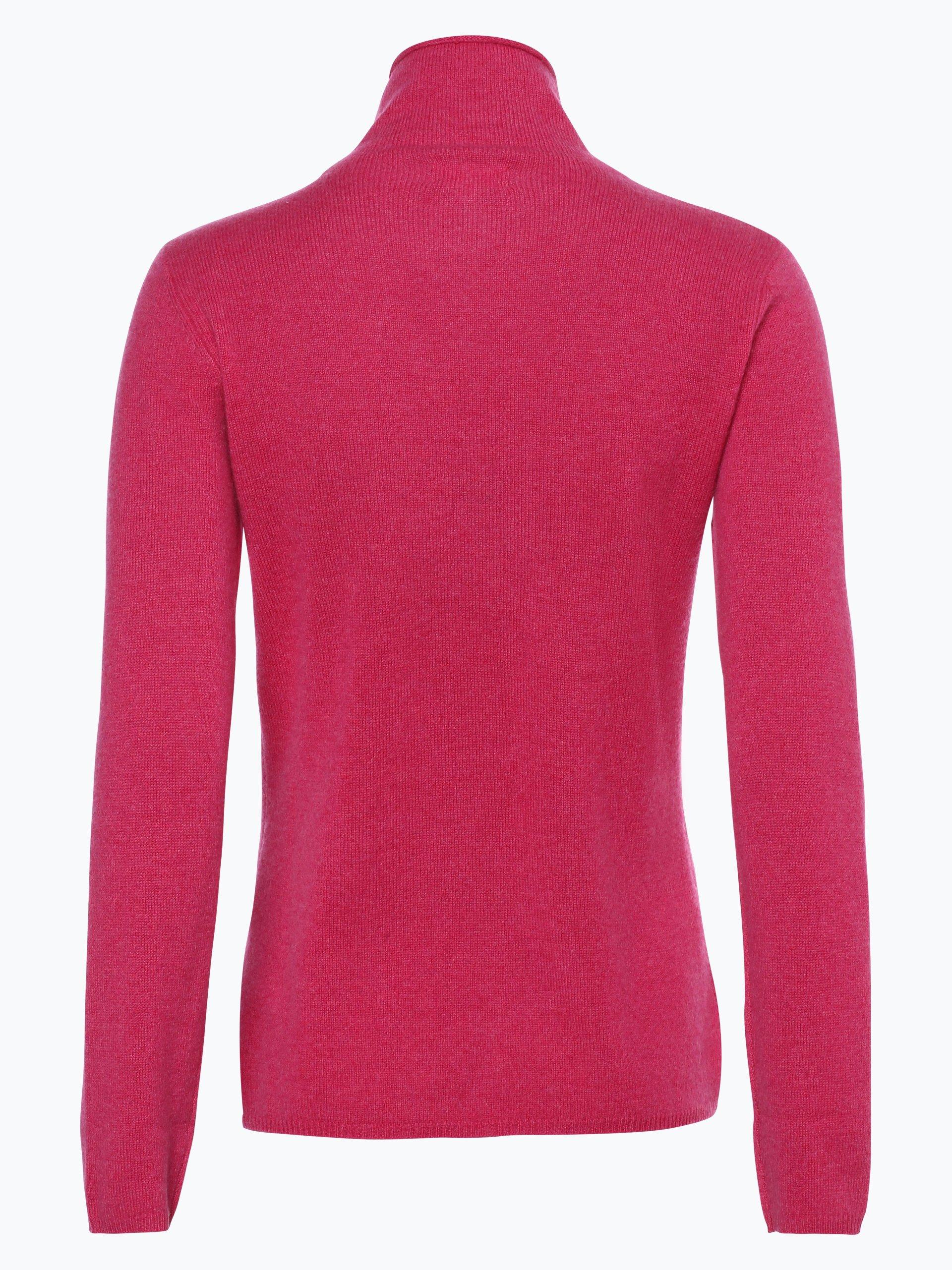 marie lund damen pure cashmere pullover pink uni online. Black Bedroom Furniture Sets. Home Design Ideas