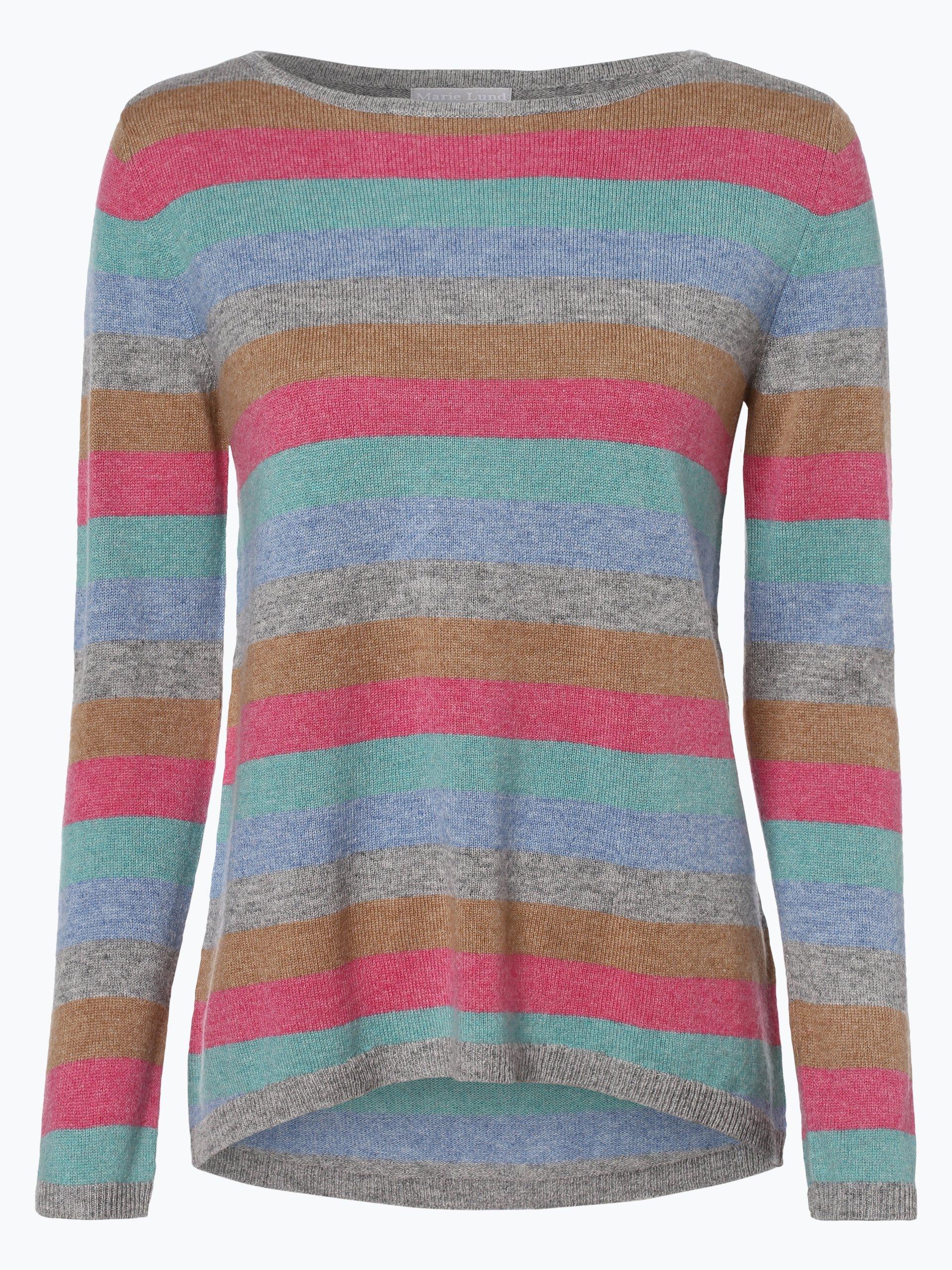 Marie Lund Damen Pure Cashmere Pullover