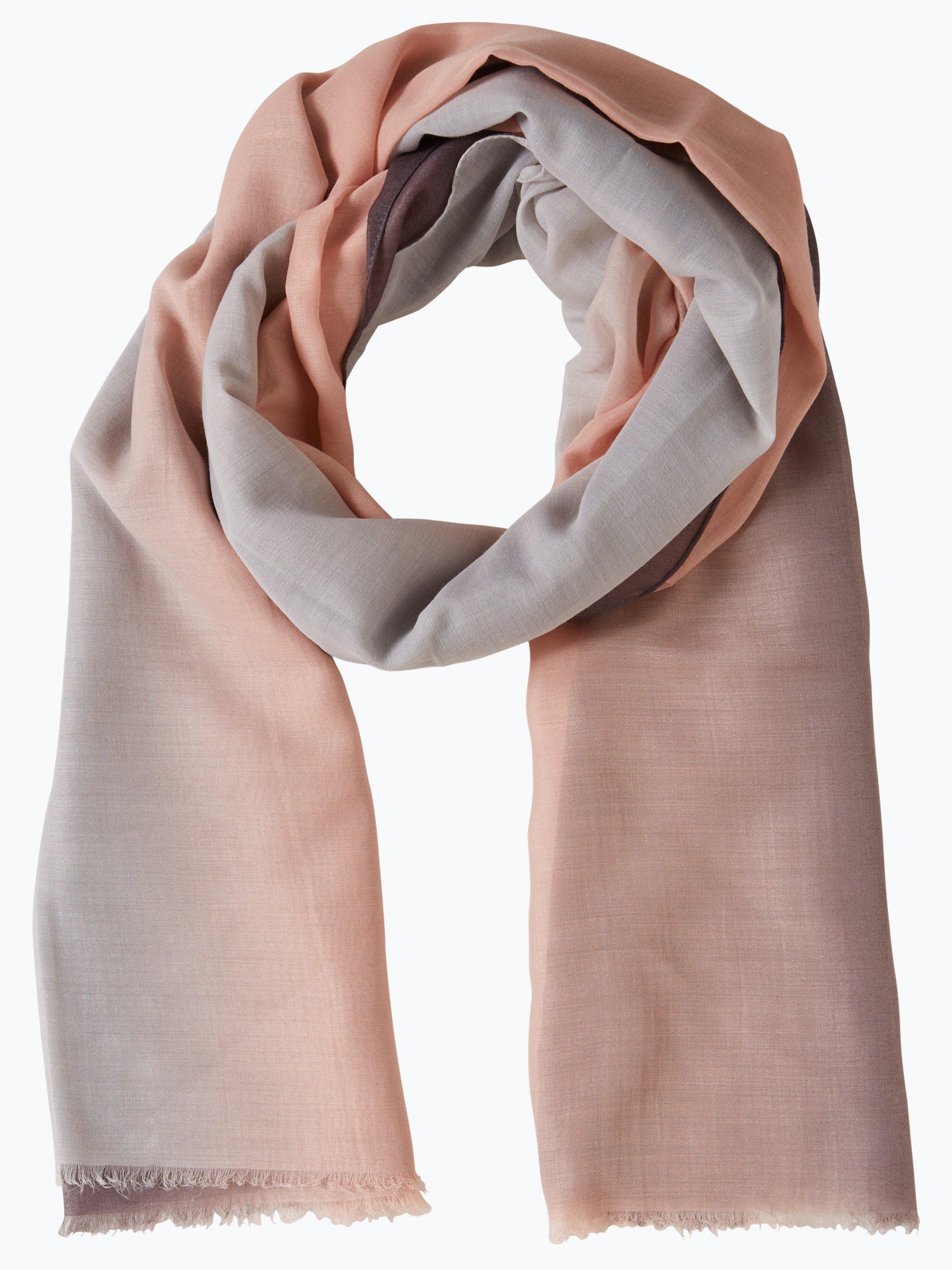 marie lund damen schal rosa gestreift online kaufen peek und cloppenburg de. Black Bedroom Furniture Sets. Home Design Ideas