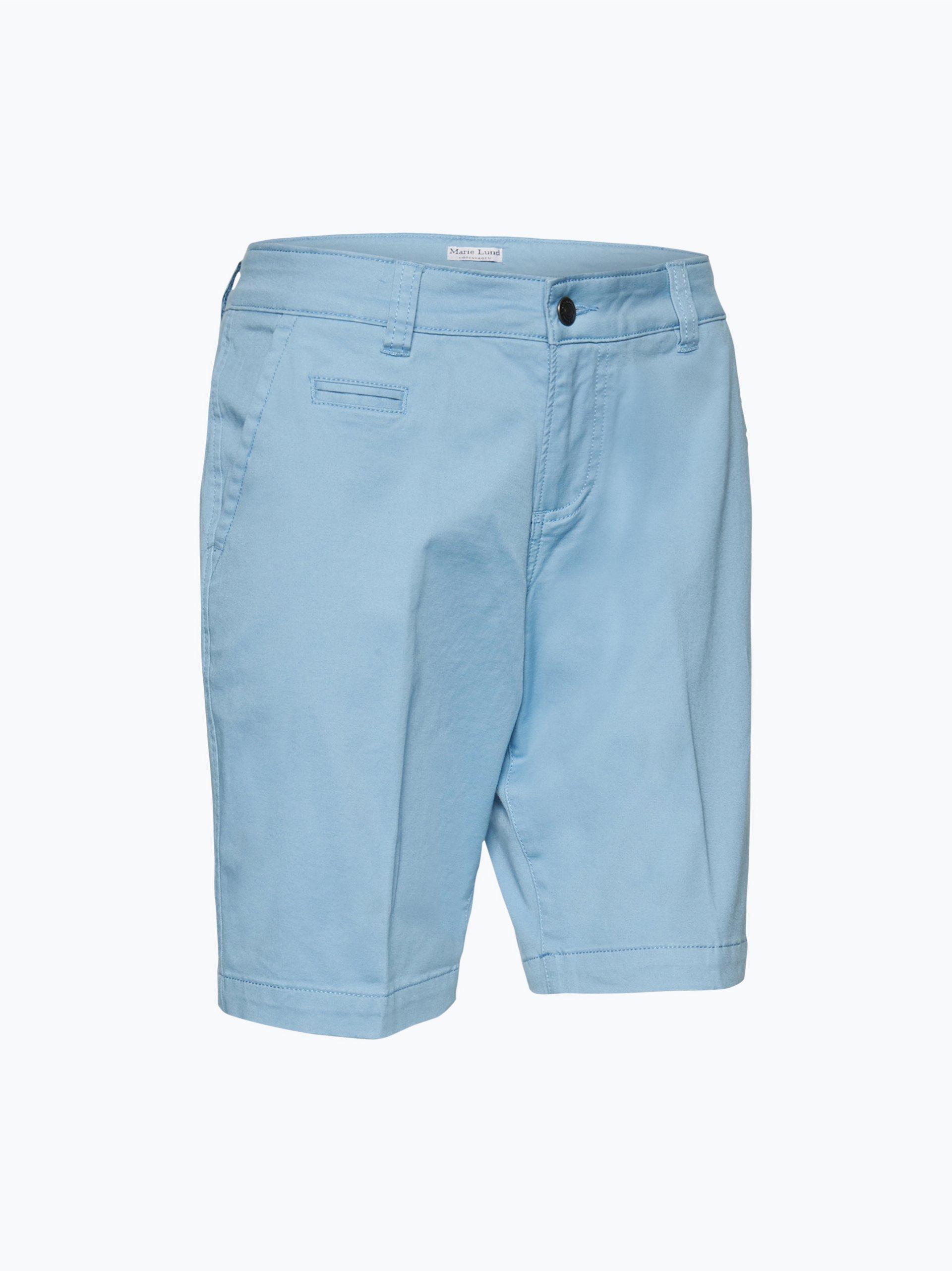 marie lund damen shorts blau uni online kaufen vangraaf com. Black Bedroom Furniture Sets. Home Design Ideas