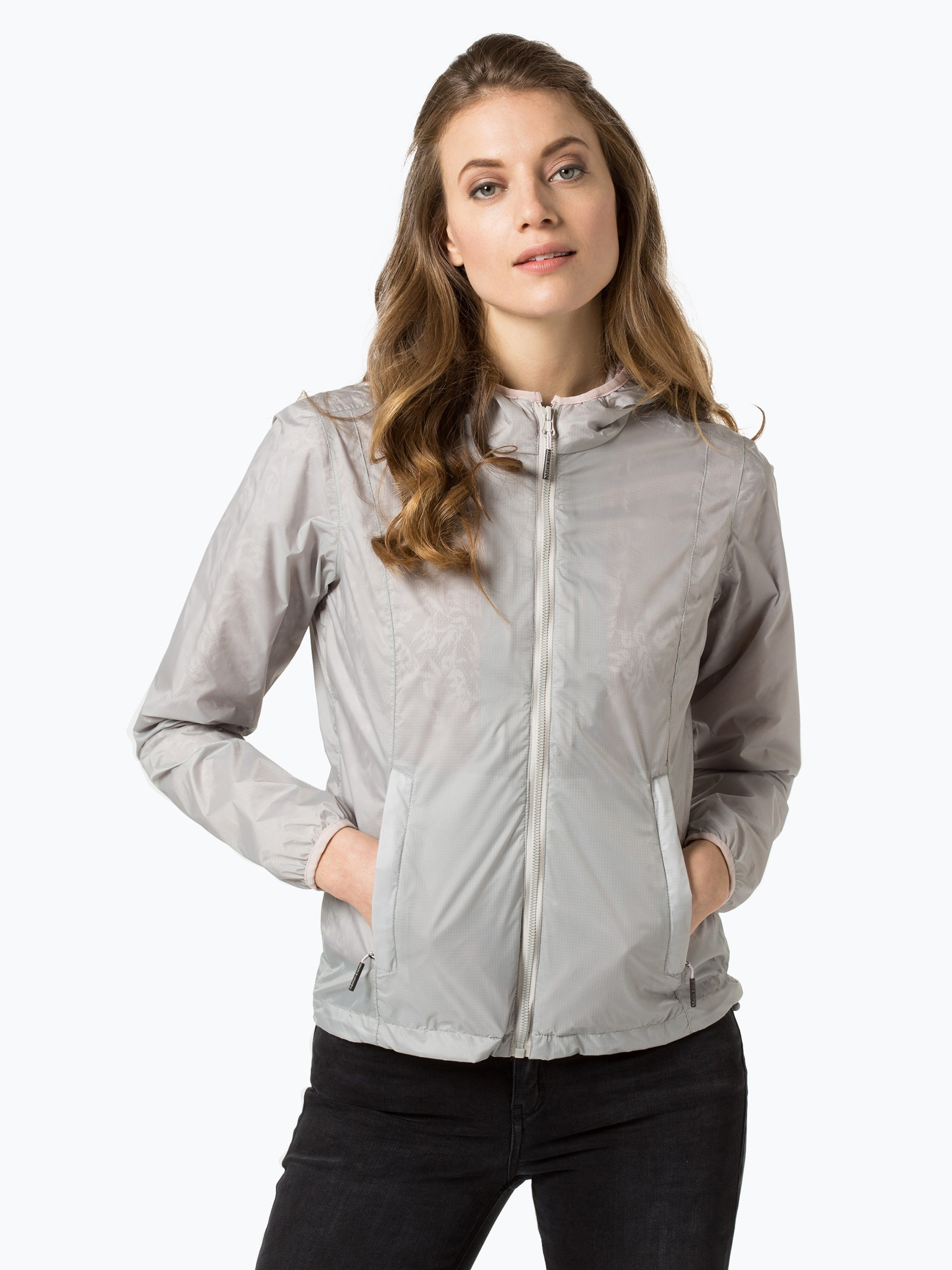 marie lund damen sportswear jacke silber kariert online kaufen vangraaf com. Black Bedroom Furniture Sets. Home Design Ideas
