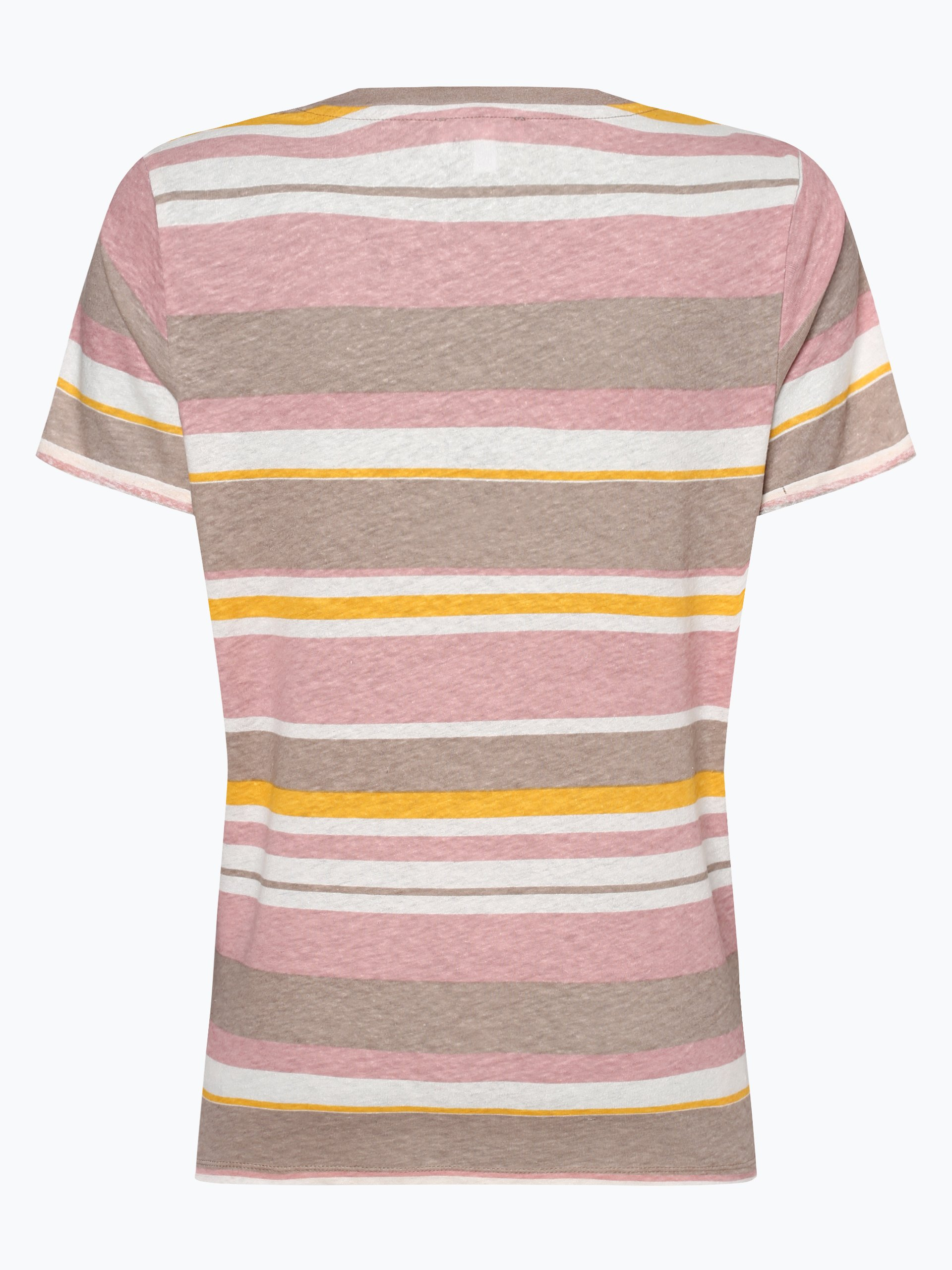 Marie Lund Damen T-Shirt mit Leinen-Anteil