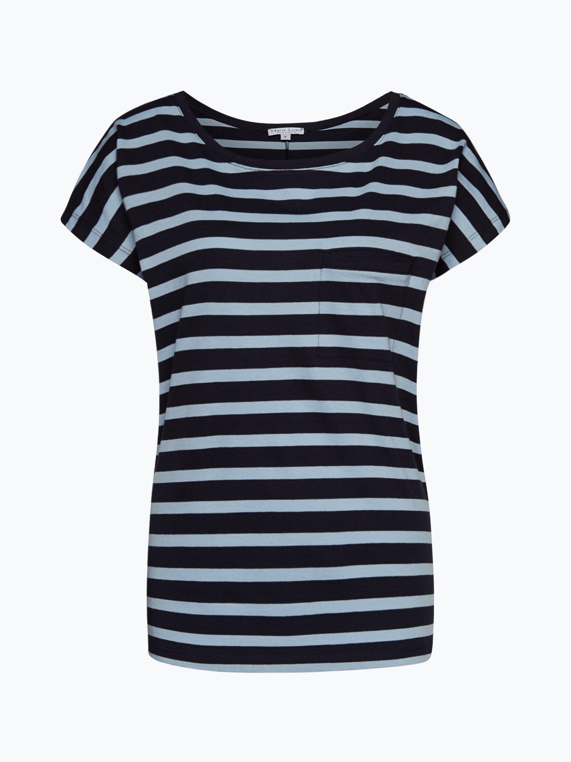 marie lund damen t shirt blau gestreift online kaufen peek und cloppenburg de. Black Bedroom Furniture Sets. Home Design Ideas