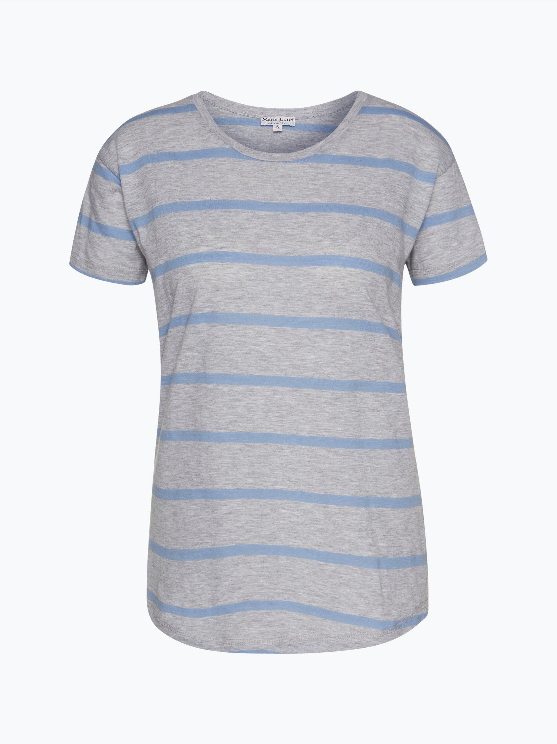 marie lund damen t shirt blau gestreift online kaufen vangraaf com. Black Bedroom Furniture Sets. Home Design Ideas