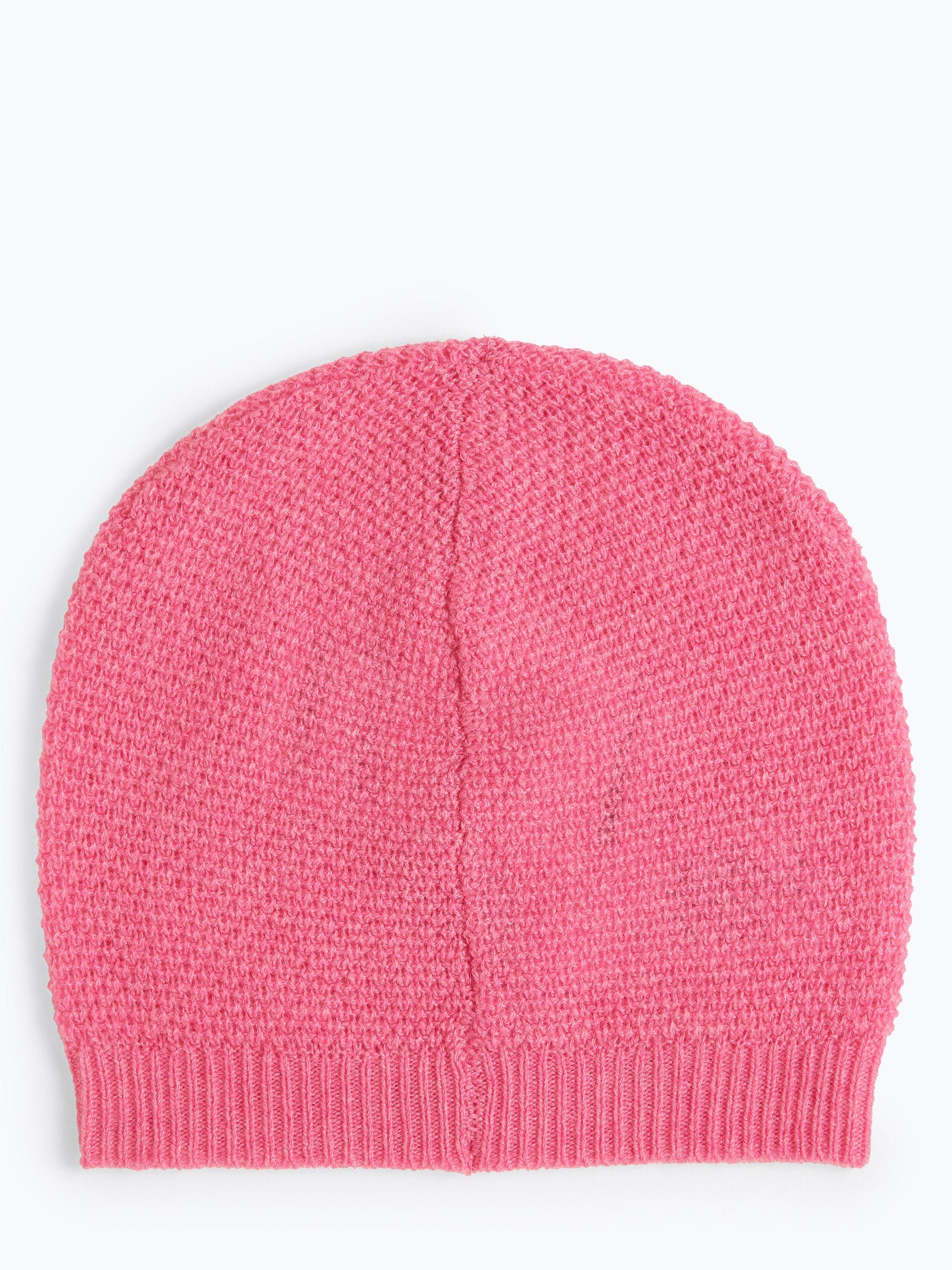 Marie Lund Damska czapka z czystego kaszmiru