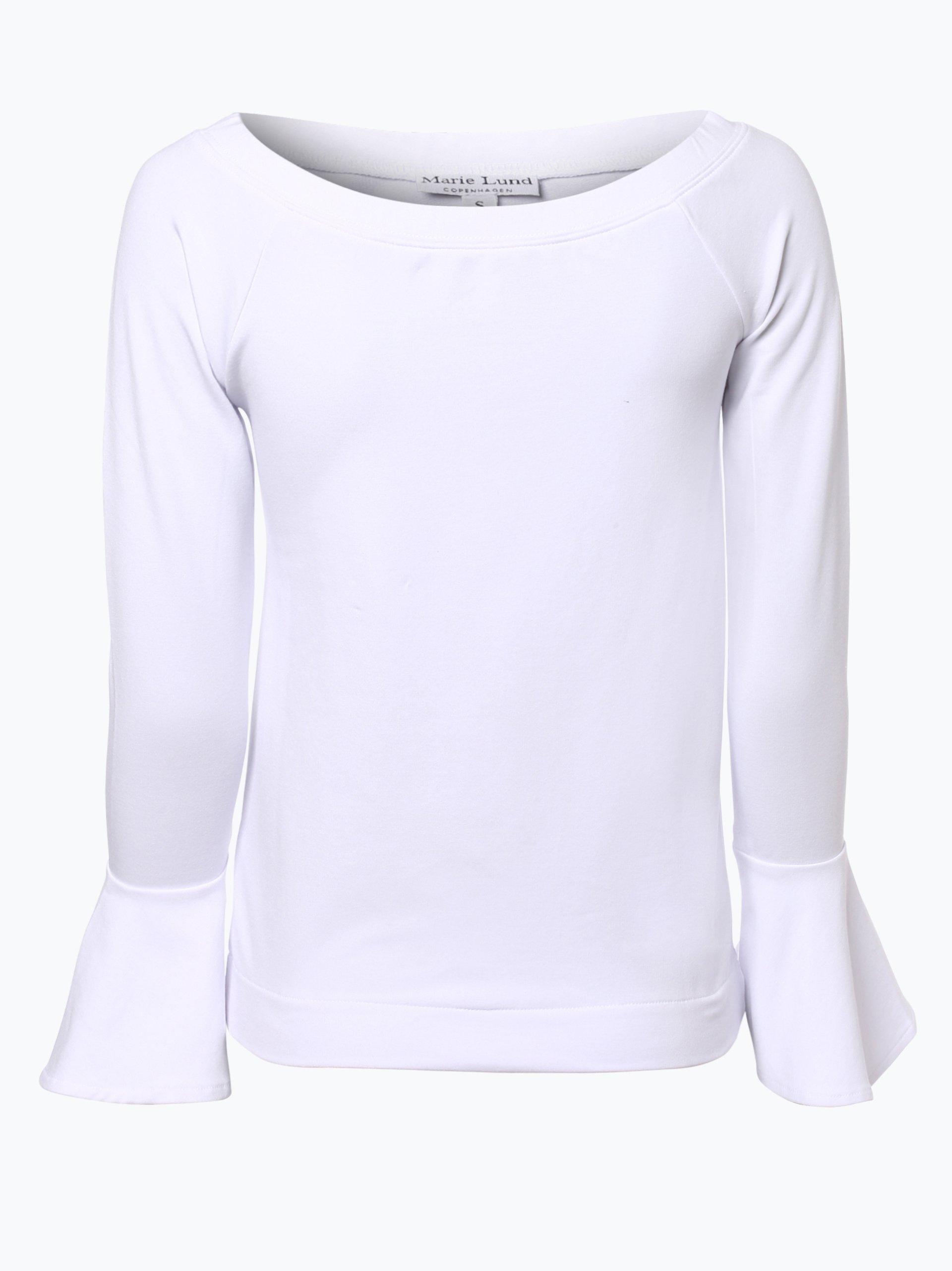 Marie Lund Damska koszulka z długim rękawem