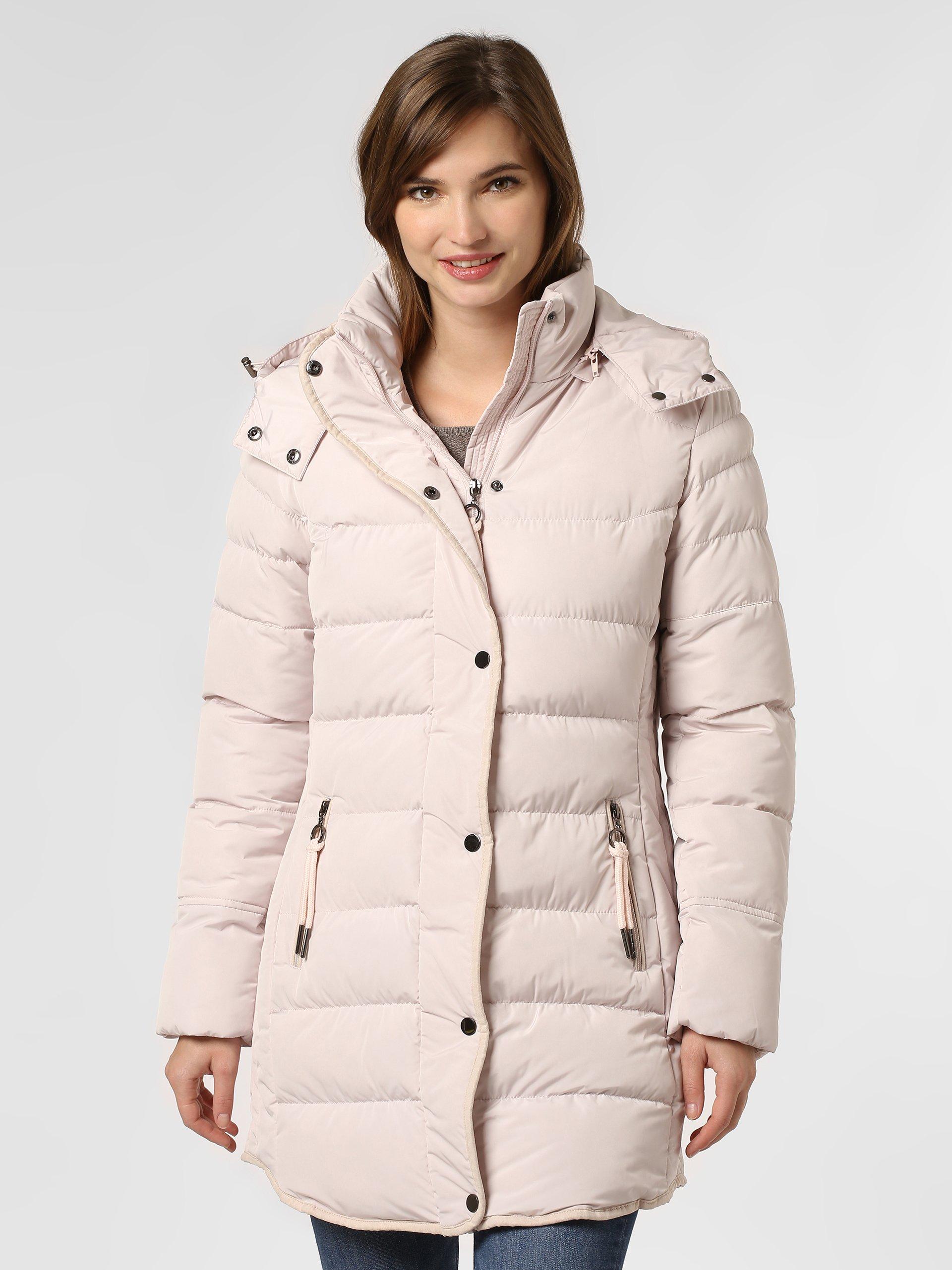 Marie Lund Damski płaszcz pikowany