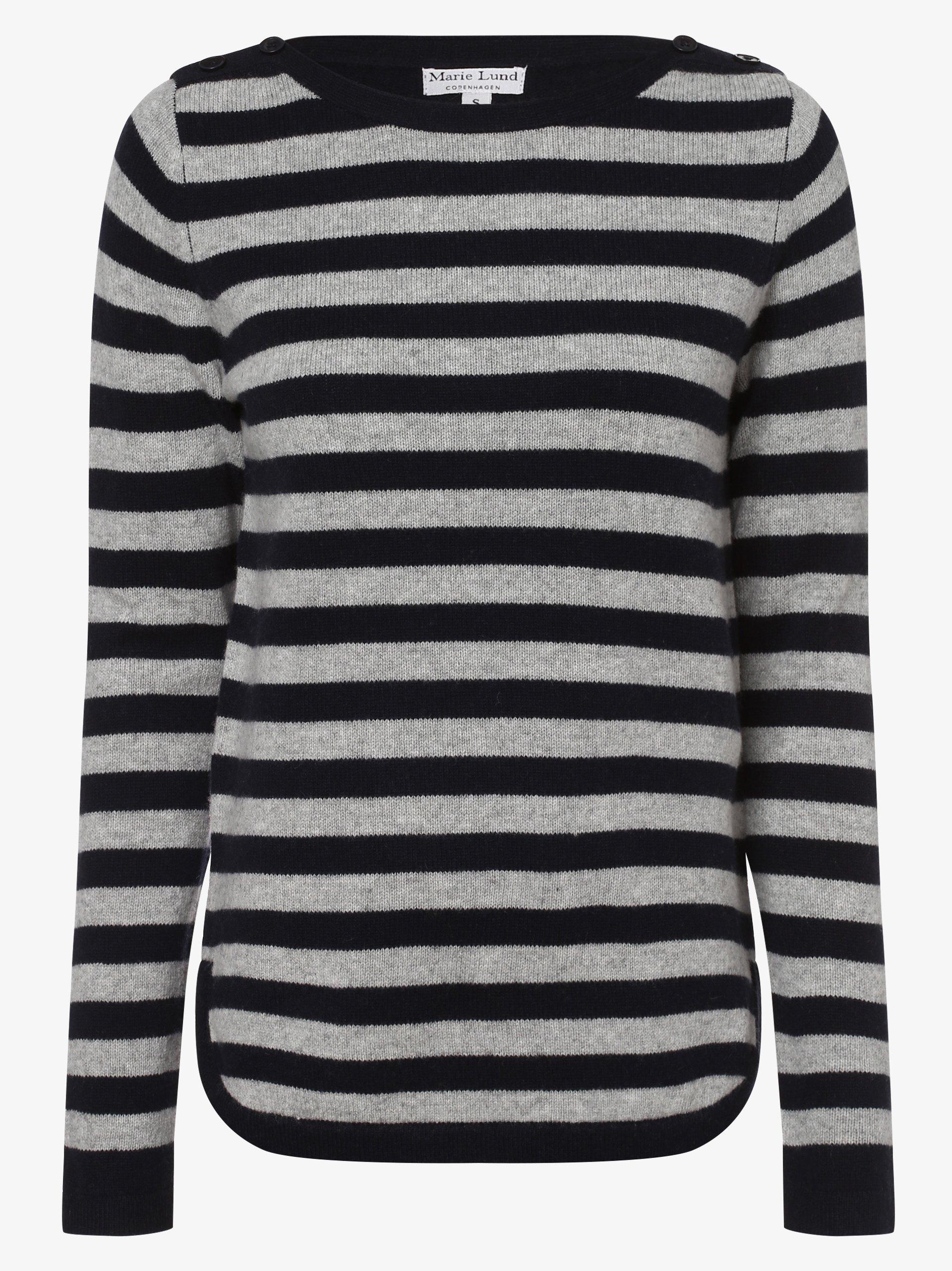 Marie Lund Damski sweter z wełny merino