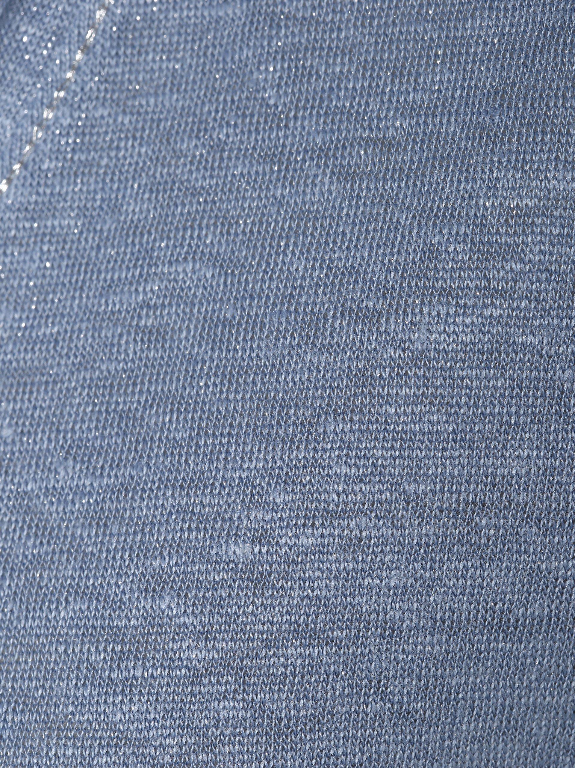 Marie Lund Damski T-shirt z lnu