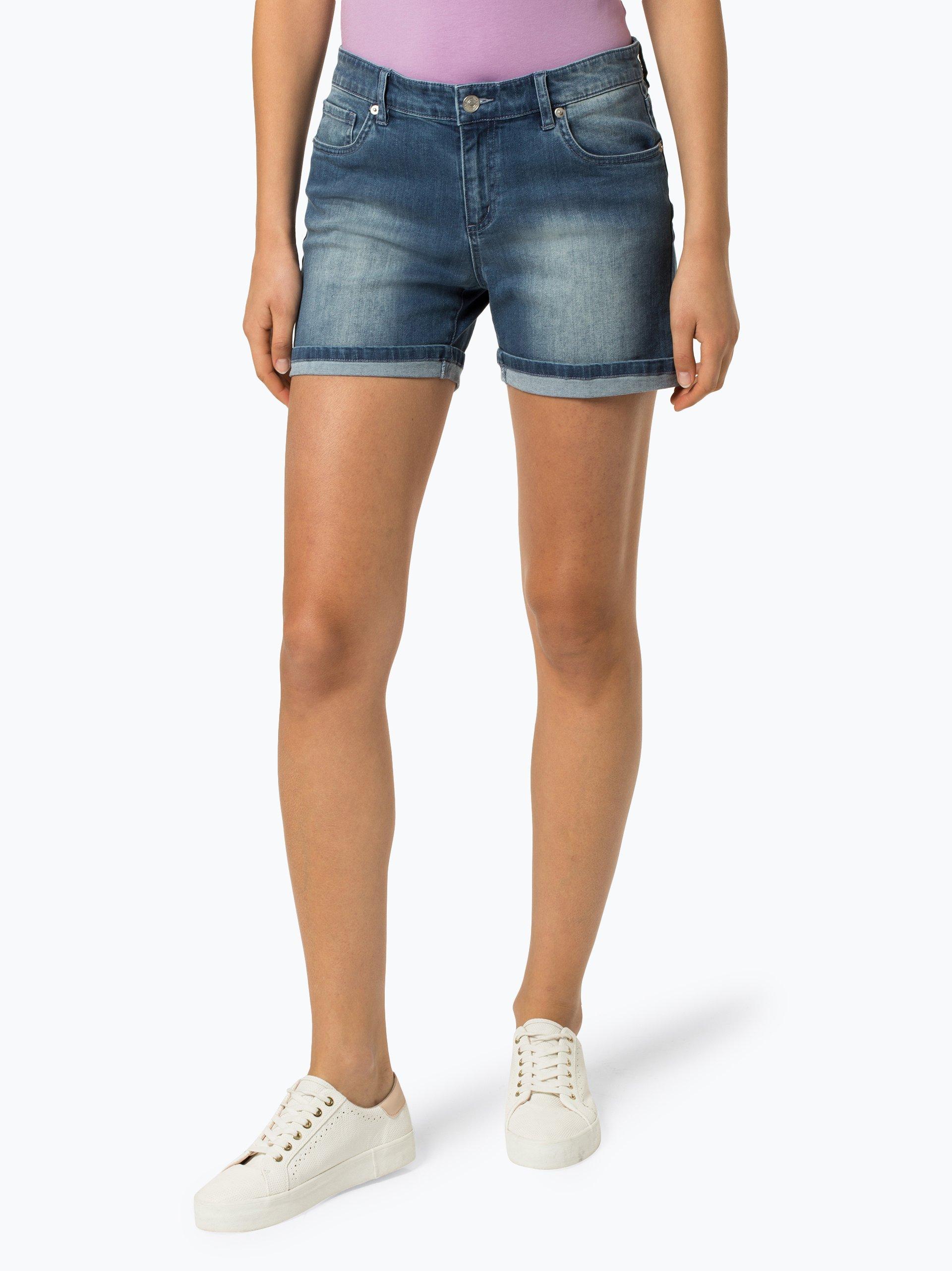 Marie Lund Damskie krótkie spodenki jeansowe