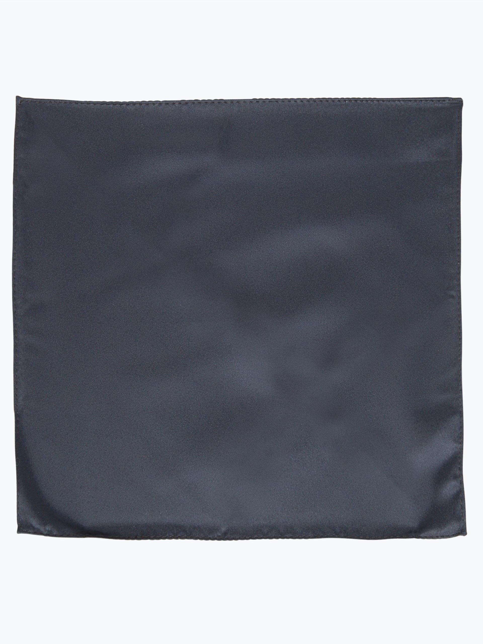 mc earl herren fliege und einstecktuch marine uni online. Black Bedroom Furniture Sets. Home Design Ideas