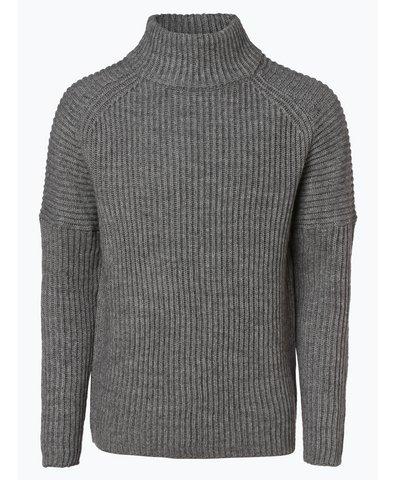 Męska bluza nierozpinana z dodatkiem alpaki – Bato