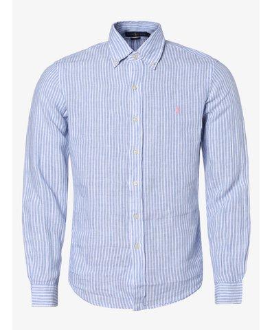 Męska koszula lniana – Slim Fit