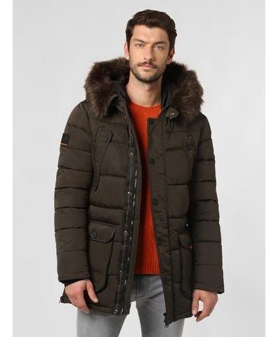 Męski płaszcz pikowany – Chinook Parka