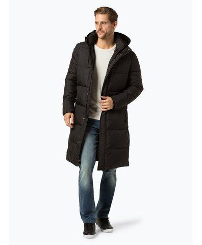 Męski płaszcz pikowany