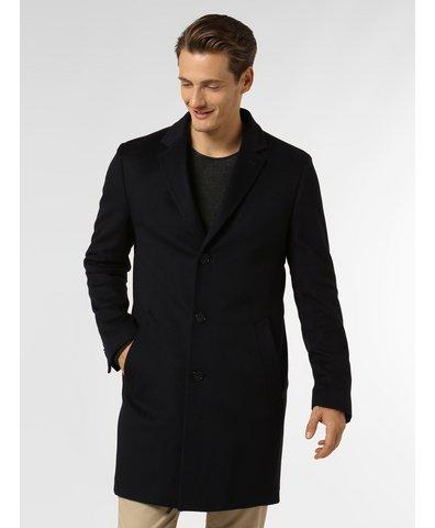 Męski płaszcz z czystego kaszmiru