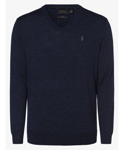 Męski sweter z wełny merino – Slim Fit