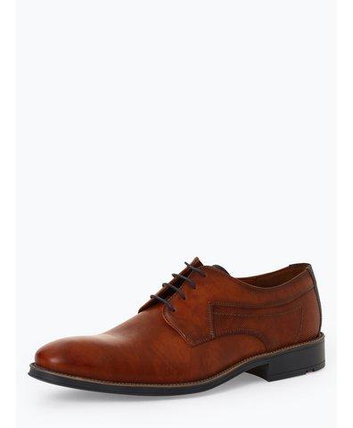 Męskie buty sznurowane ze skóry – Genf