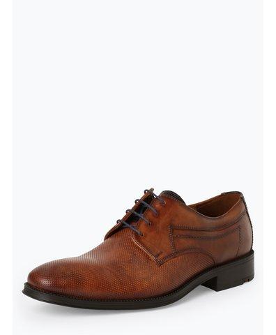 Męskie buty sznurowane ze skóry – Gherom