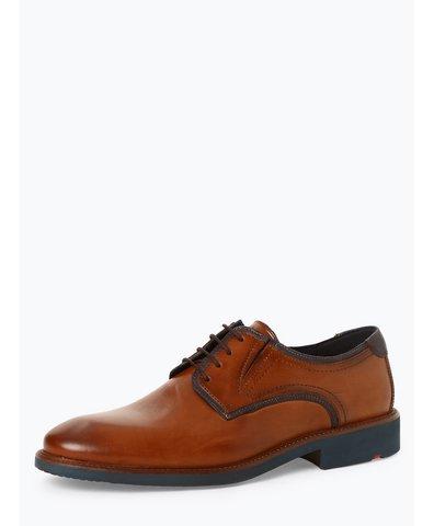 Męskie buty sznurowane ze skóry – Keedy
