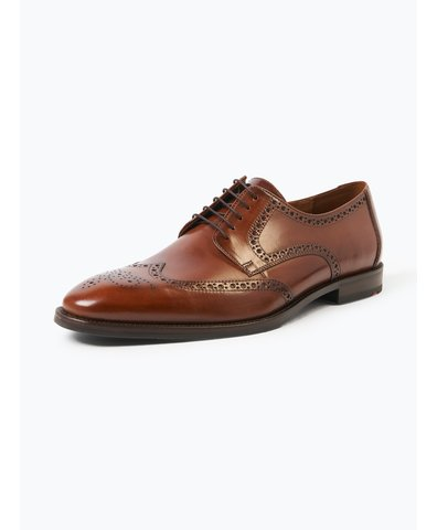 Męskie buty sznurowane ze skóry – Lucien